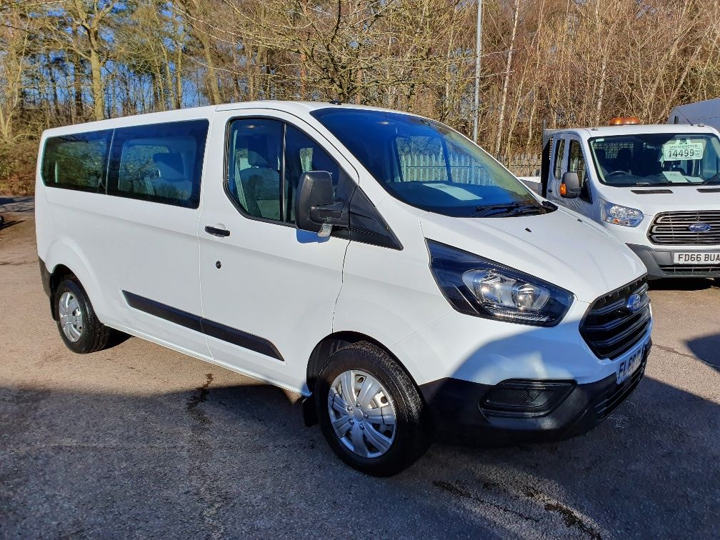 2018 Ford Transit Custom 2.0 Tdci 130Ps Low Roof Kombi Van (FL68BLN)