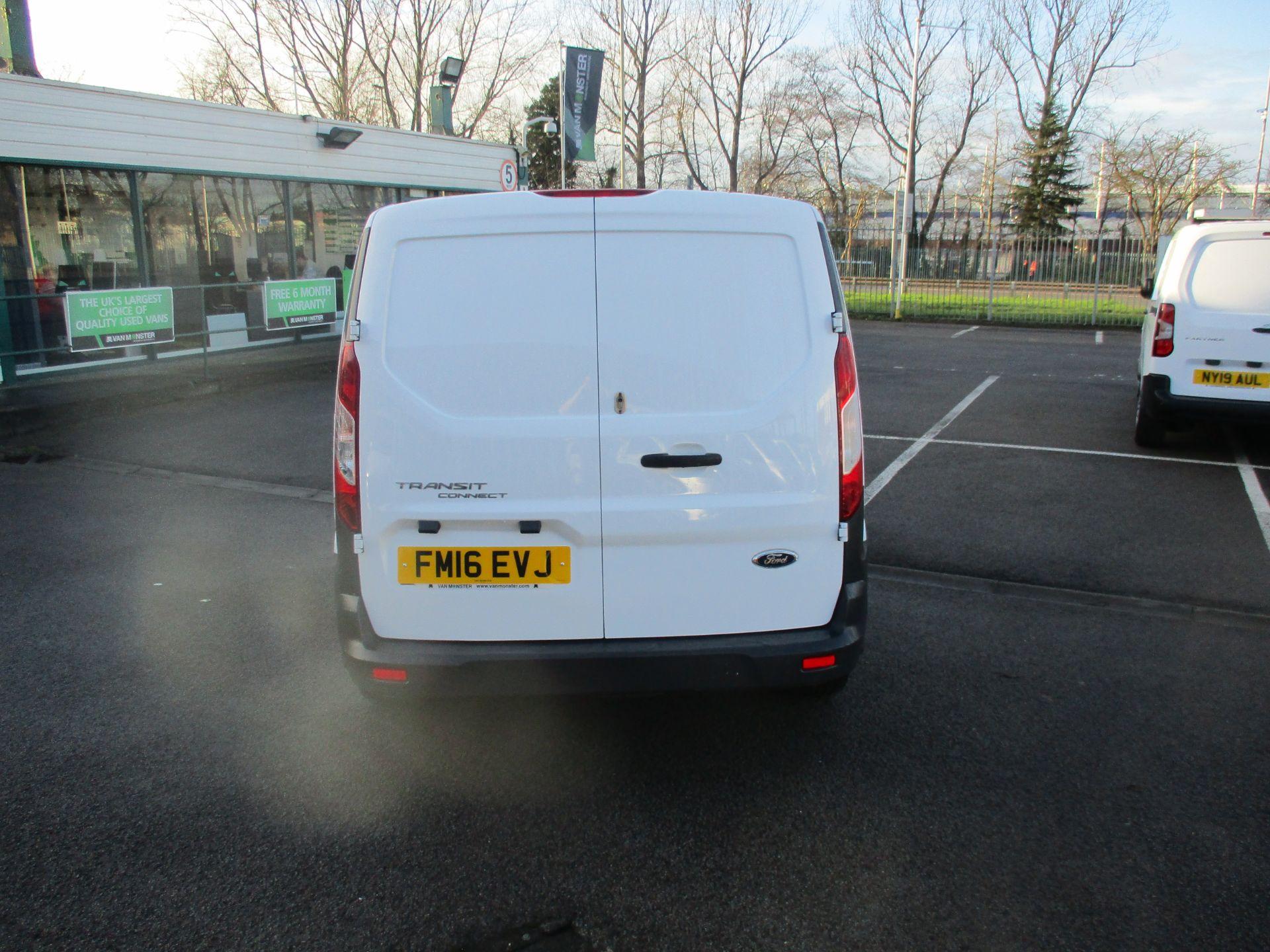 2016 Ford Transit Connect 1.5 Tdci 75Ps Van (FM16EVJ) Image 4