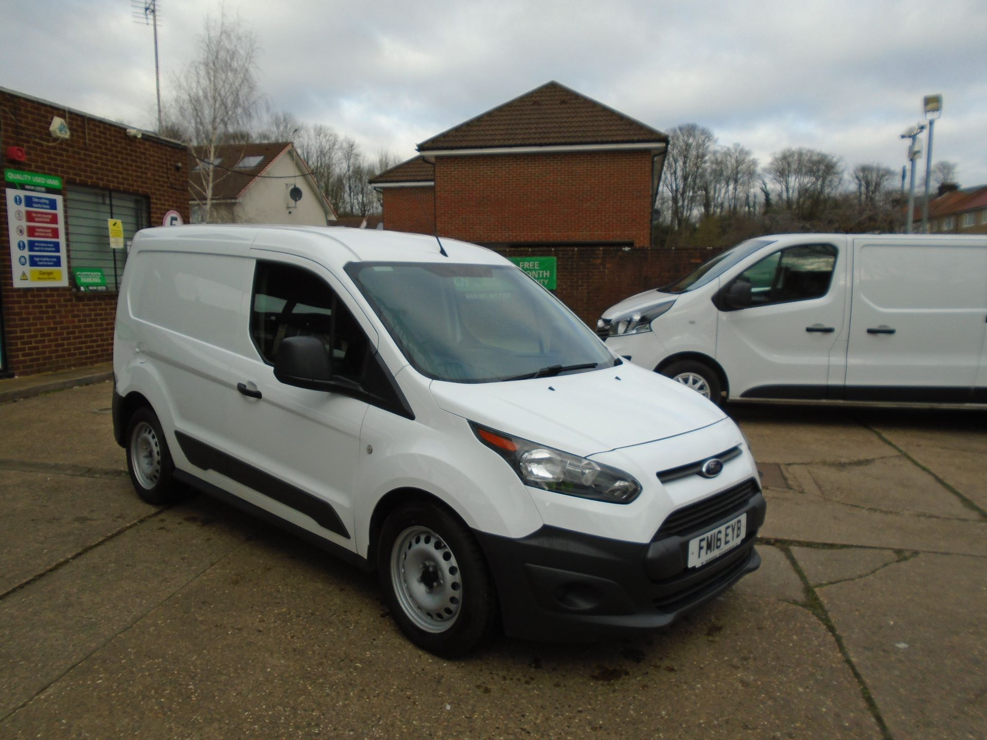 2016 Ford Transit Connect 1.5 Tdci 75Ps Van(EURO5) (FM16EYB) Image 1