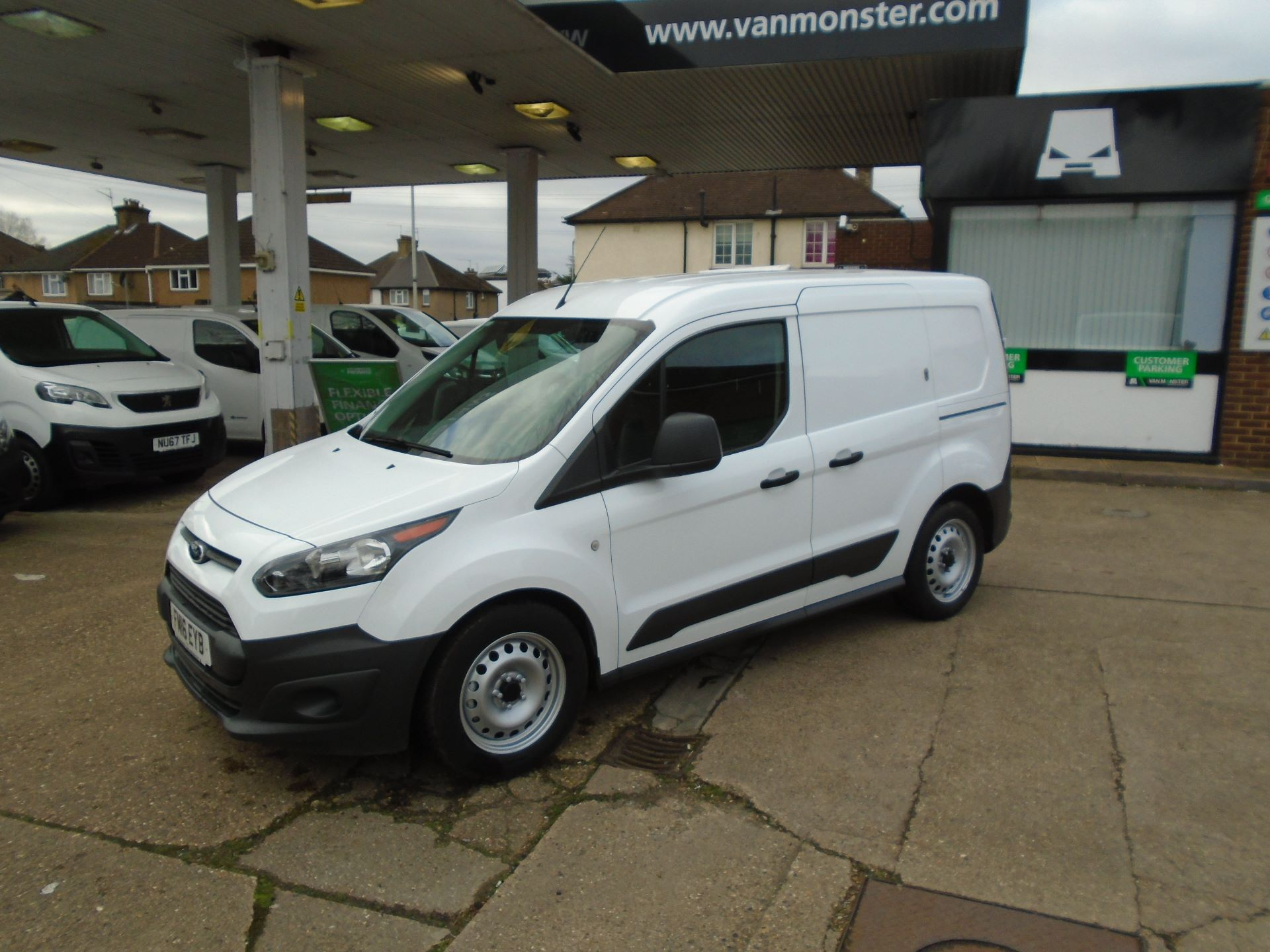 2016 Ford Transit Connect 1.5 Tdci 75Ps Van(EURO5) (FM16EYB) Image 8