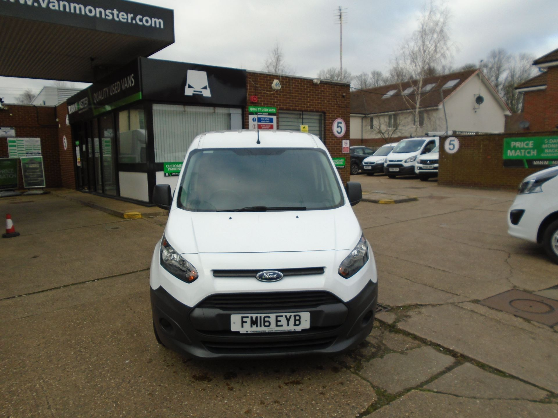 2016 Ford Transit Connect 1.5 Tdci 75Ps Van(EURO5) (FM16EYB) Image 2