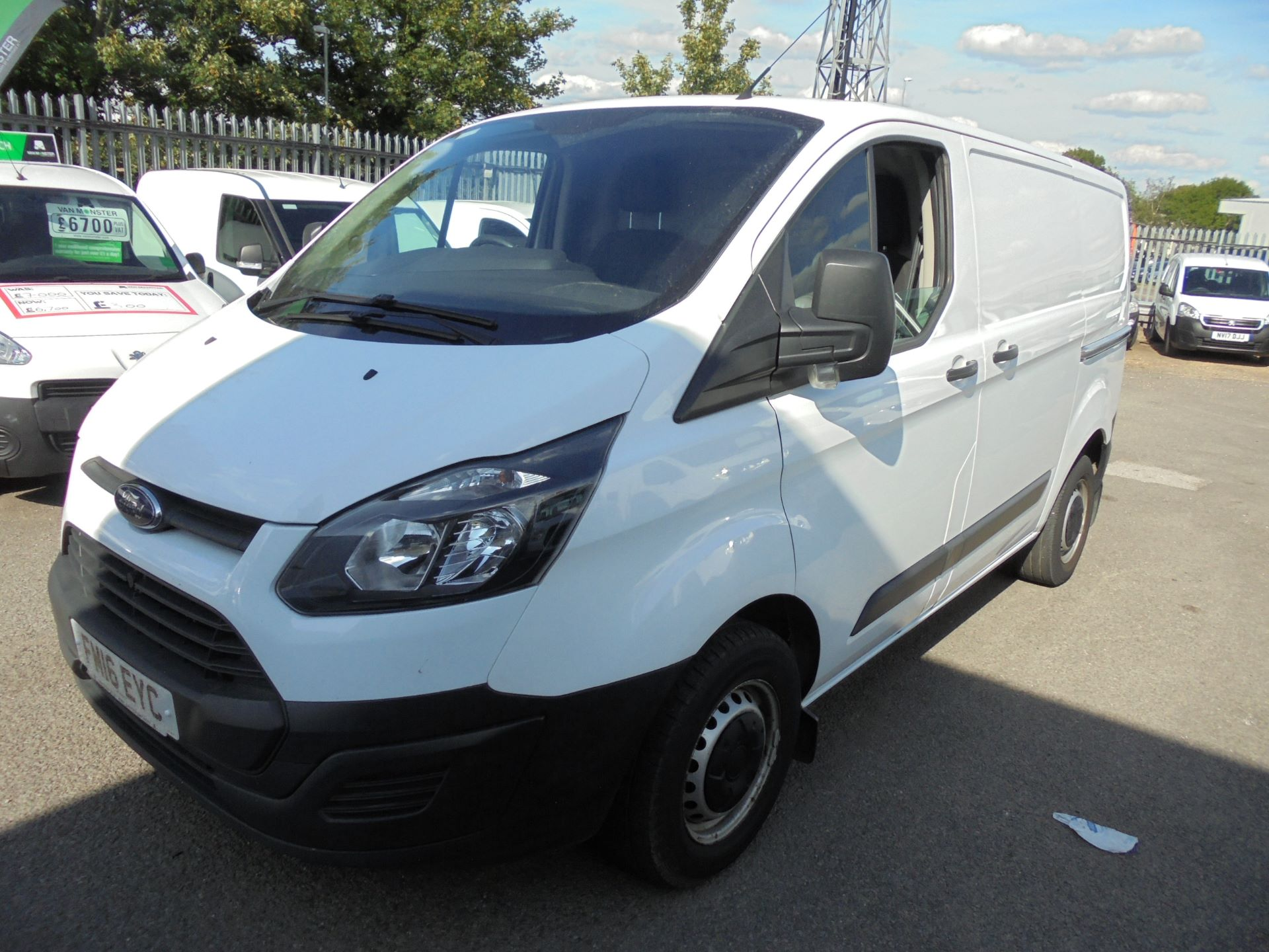 2016 Ford Transit Custom 290 L1 DIESEL FWD 2.2  TDCI 100PS LOW ROOF VAN EURO 5 (FM16EYC) Thumbnail 7