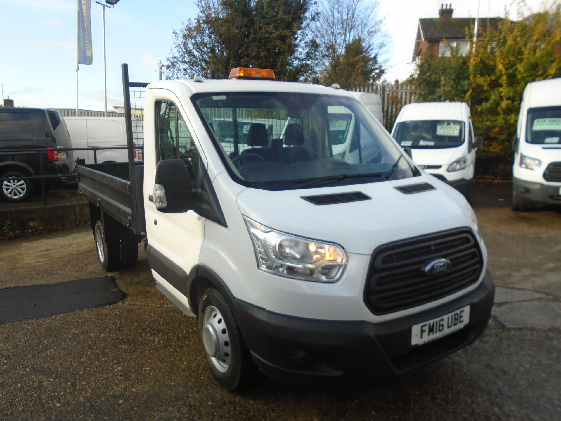2016 Ford Transit 2.2 Tdci 125Ps Chassis Cab (FM16UBE)