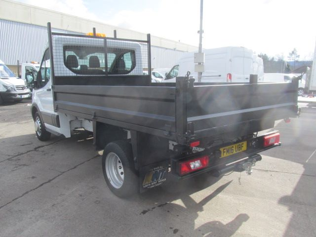 2016 Ford Transit 350 L2 SINGLE CAB TIPPER 125PS EURO 5 (FM16UBF) Image 12