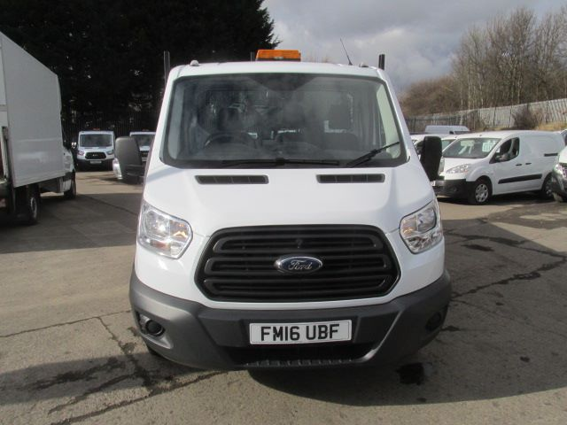 2016 Ford Transit 350 L2 SINGLE CAB TIPPER 125PS EURO 5 (FM16UBF) Image 17