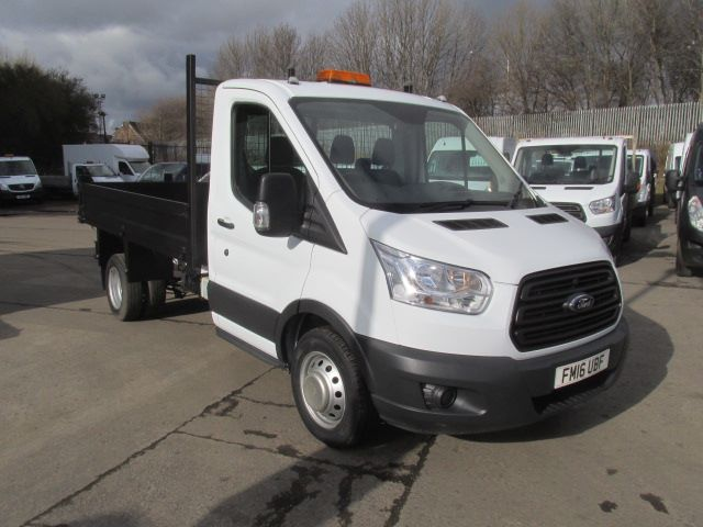 2016 Ford Transit 350 L2 SINGLE CAB TIPPER 125PS EURO 5 (FM16UBF)