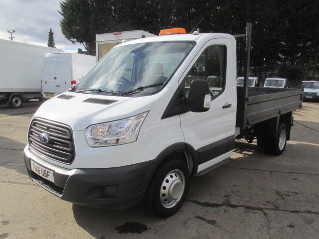 2016 Ford Transit 350 L2 SINGLE CAB TIPPER 125PS EURO 5 (FM16UBF) Image 16