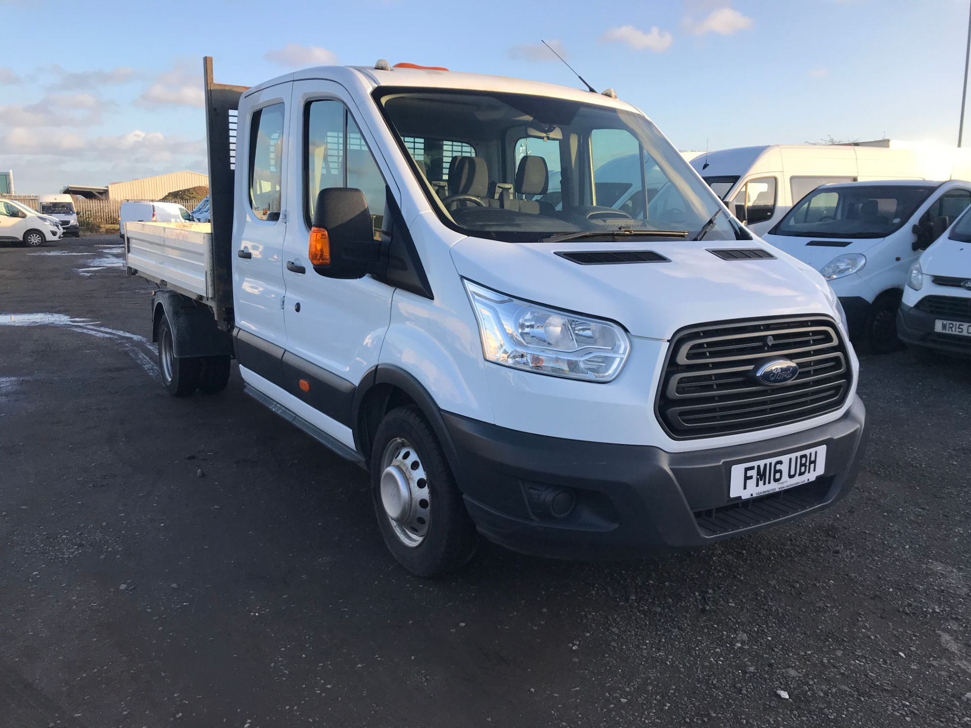 2016 Ford Transit 2.2 Tdci 125Ps Double Cab Chassis (FM16UBH)