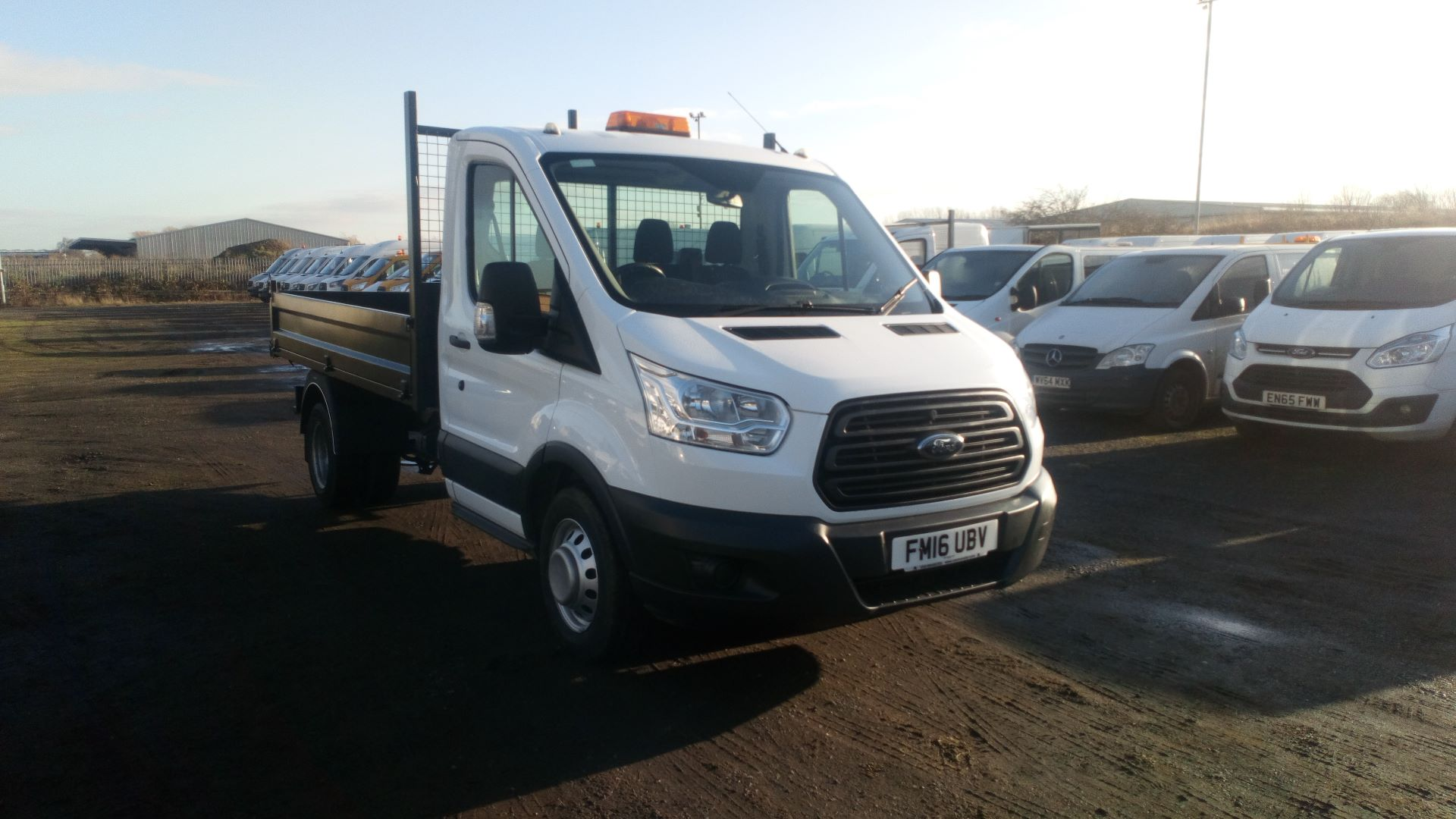 2016 Ford Transit 2.2 Tdci 125Ps Chassis Cab (FM16UBV)