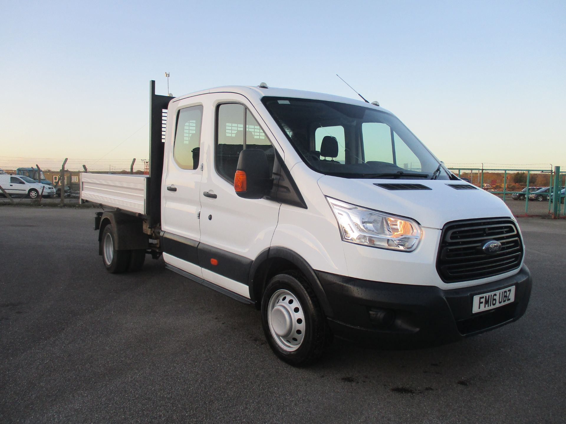 2016 Ford Transit 350 L3 DOUBLE CAB TIPPER 125PS EURO 5 (FM16UBZ)