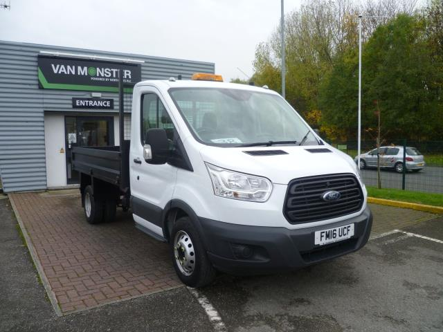 2016 Ford Transit T 350 L2 SINGLE CAB TIPPER 125PS EURO 5 (FM16UCF)