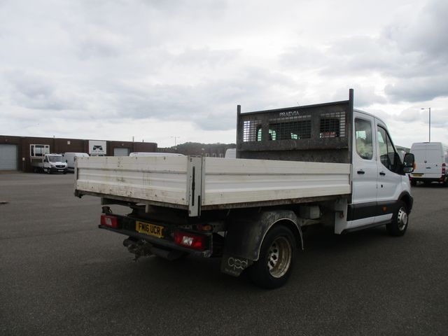 2016 Ford Transit 350 L3 DOUBLE CAB TIPPER 125PS EURO 5 (FM16UCR) Image 5