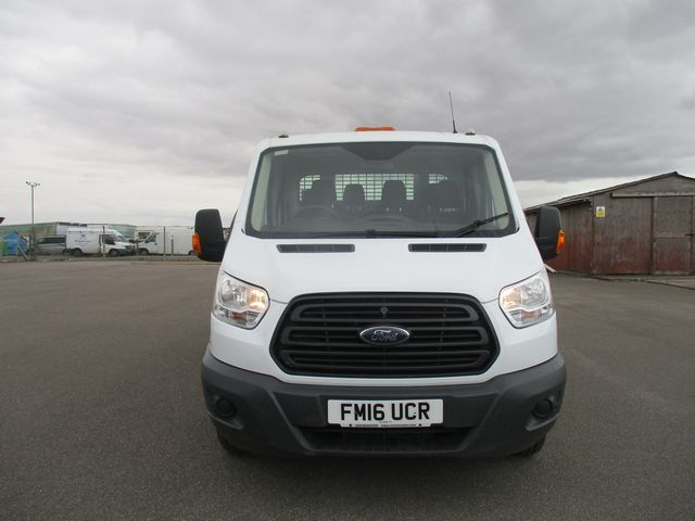 2016 Ford Transit 350 L3 DOUBLE CAB TIPPER 125PS EURO 5 (FM16UCR) Image 2