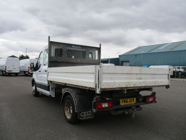 2016 Ford Transit 350 L3 DOUBLE CAB TIPPER 125PS EURO 5 (FM16UCR) Image 7
