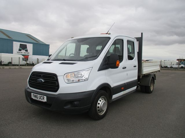 2016 Ford Transit 350 L3 DOUBLE CAB TIPPER 125PS EURO 5 (FM16UCR) Image 3