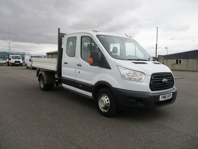 2016 Ford Transit 350 L3 DOUBLE CAB TIPPER 125PS EURO 5 (FM16UCR)