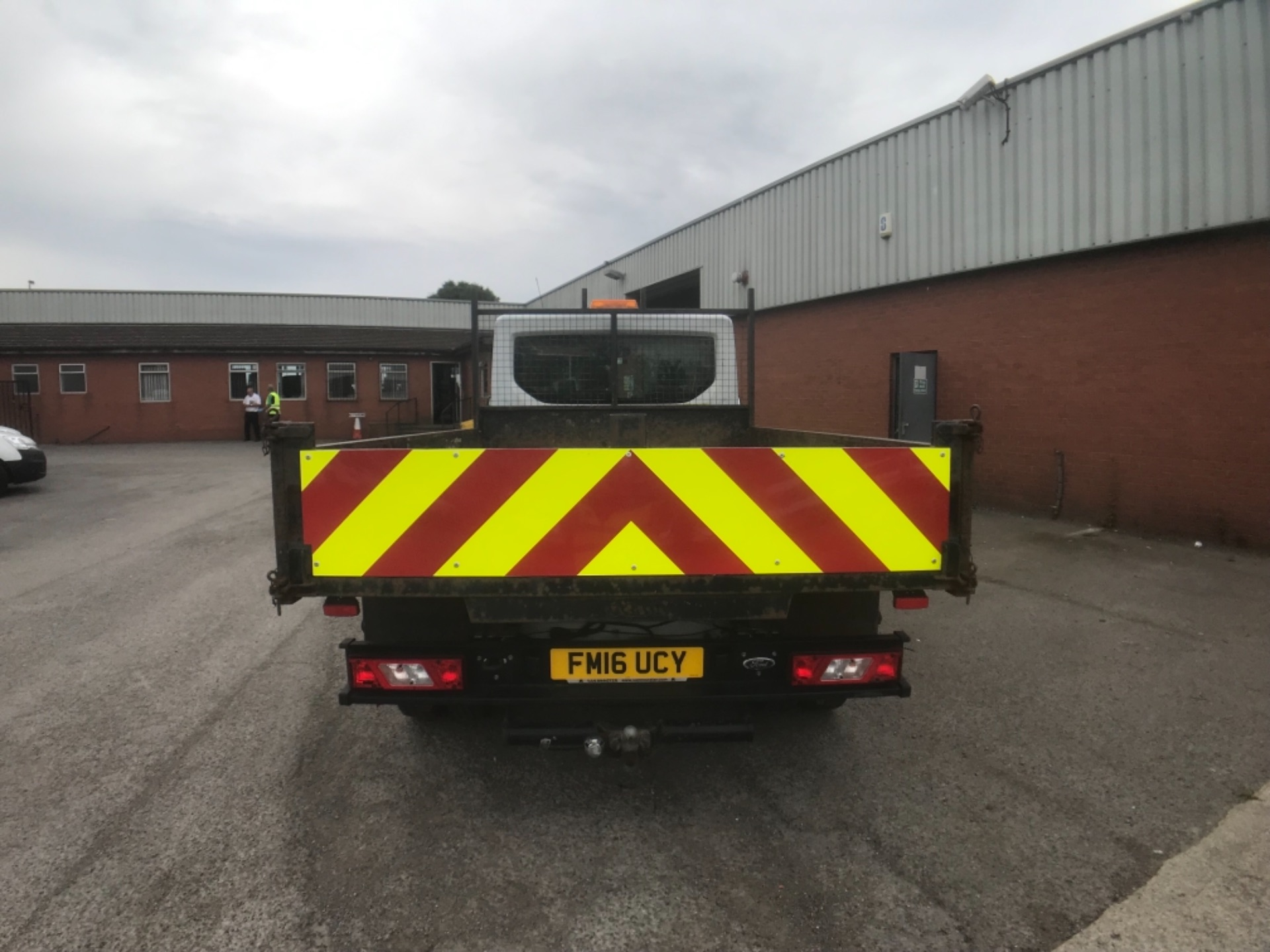 2016 Ford Transit  350 L2 SINGLE CAB TIPPER 125PS EURO 5 (FM16UCY) Image 7