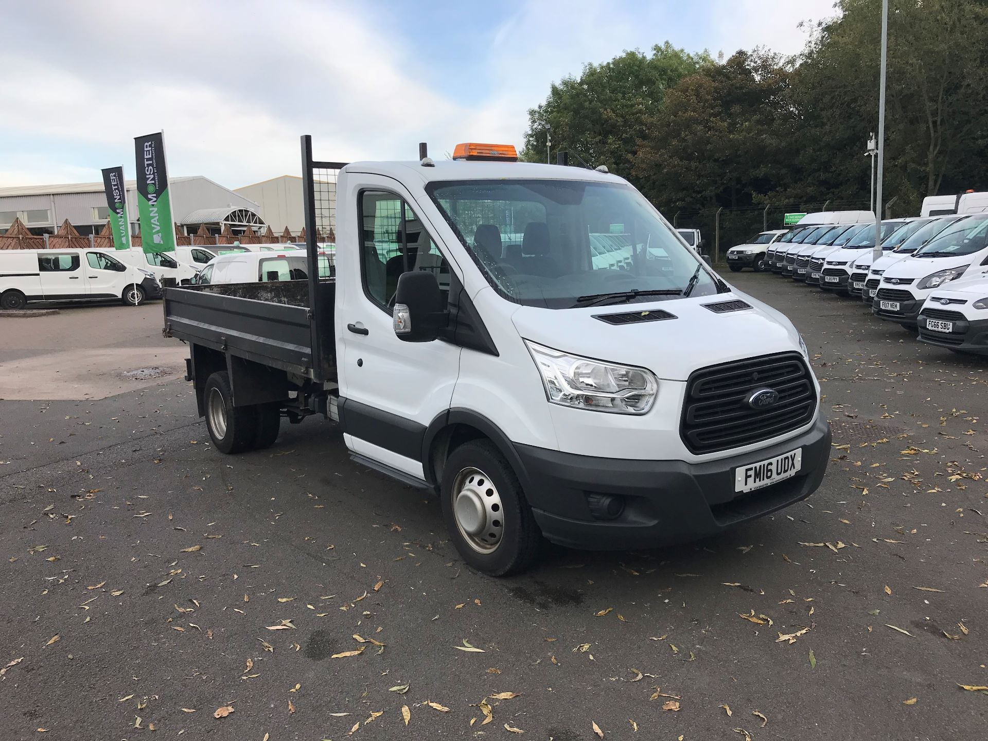 2016 Ford Transit  350 L2 SINGLE CAB TIPPER 125PS EURO 5 (FM16UDX)