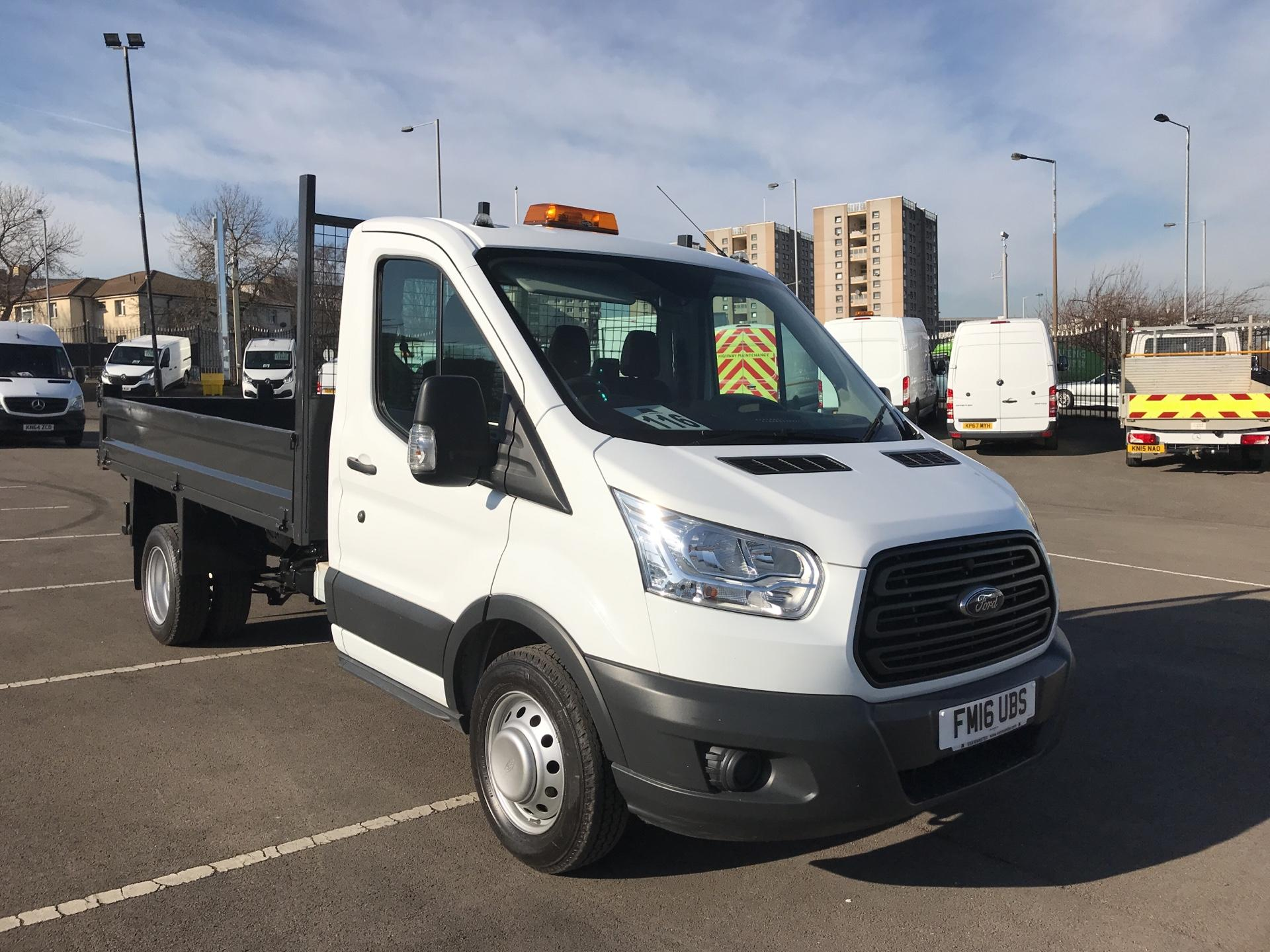 2016 Ford Transit 2.2 TDCI 125PS Single Cab Tipper Euro 5 (FM16UBS)