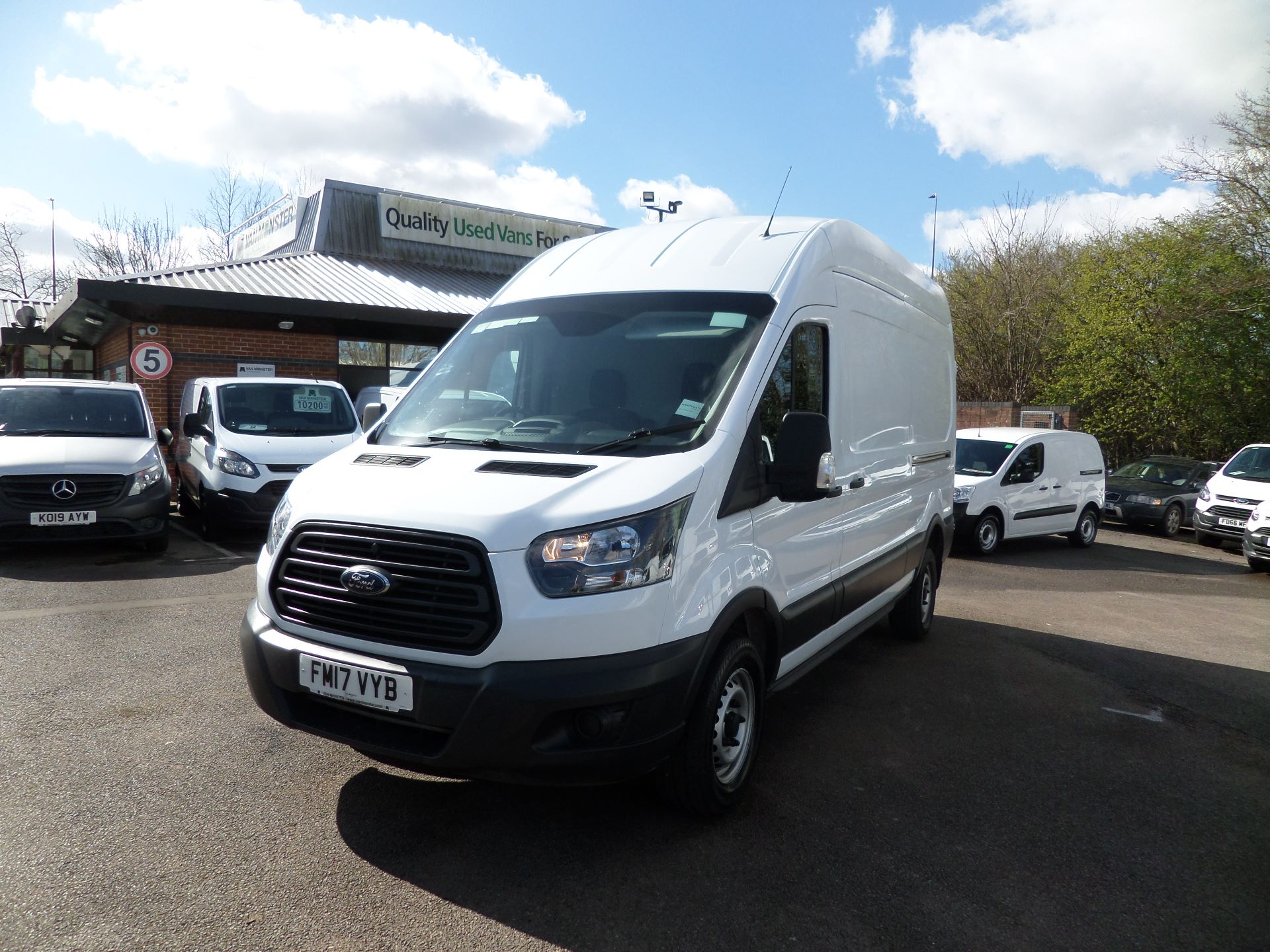 2017 Ford Transit 2.0 Tdci 130Ps H3 Van Euro 6 ( Limited To 70MPH ) (FM17VYB) Image 9