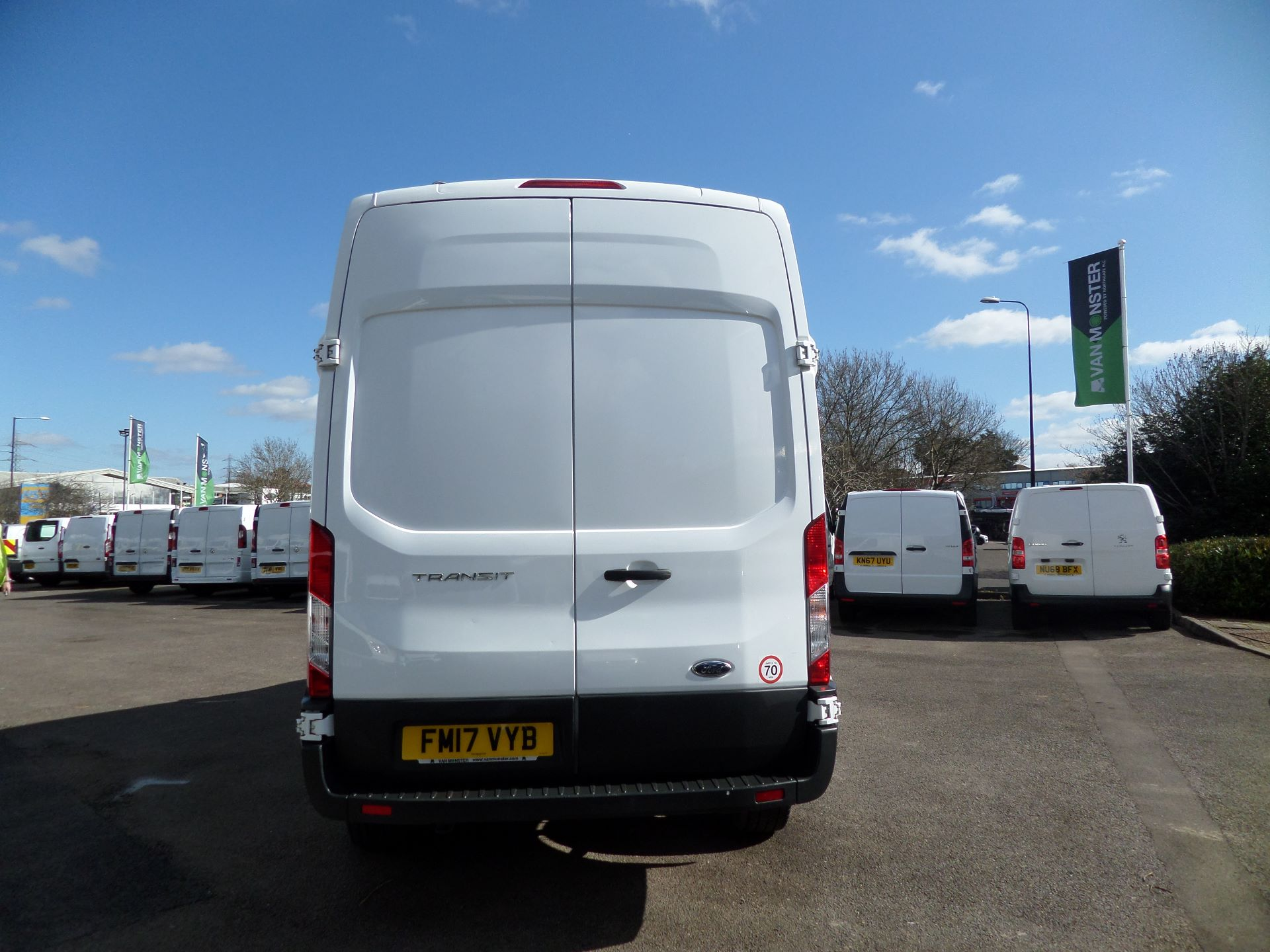 2017 Ford Transit 2.0 Tdci 130Ps H3 Van Euro 6 ( Limited To 70MPH ) (FM17VYB) Image 3