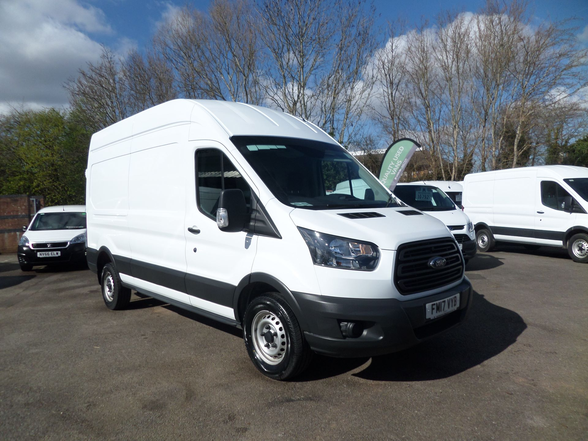 2017 Ford Transit 2.0 Tdci 130Ps H3 Van Euro 6 ( Limited To 70MPH ) (FM17VYB)