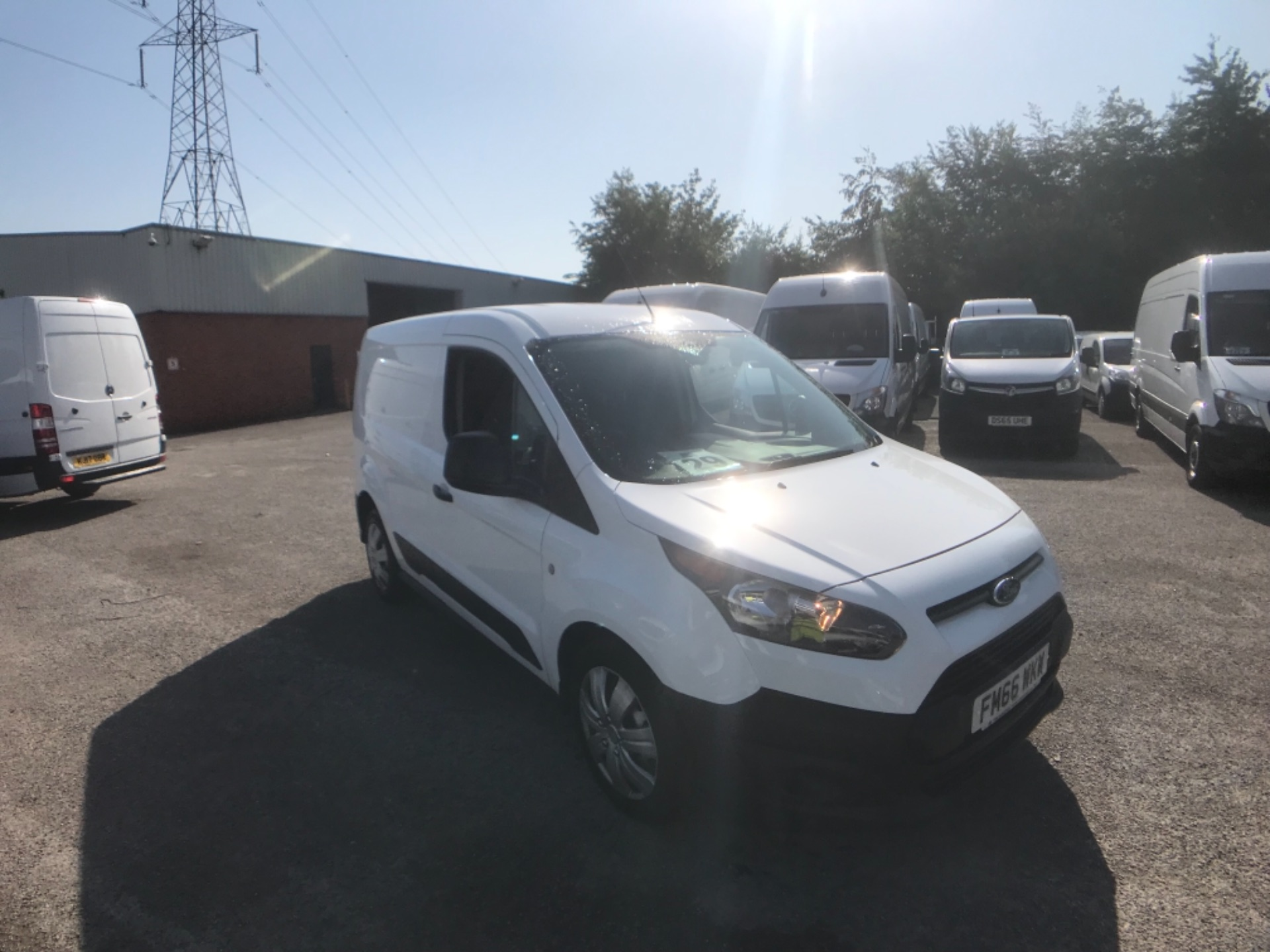 2017 Ford Transit Connect 1.5 Tdci 75Ps Van (FM66WKW)