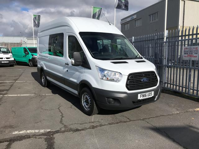 2016 Ford Transit T350 L3 H3 DOUBLE CAB 125PS EURO 5 (FN16UOS)