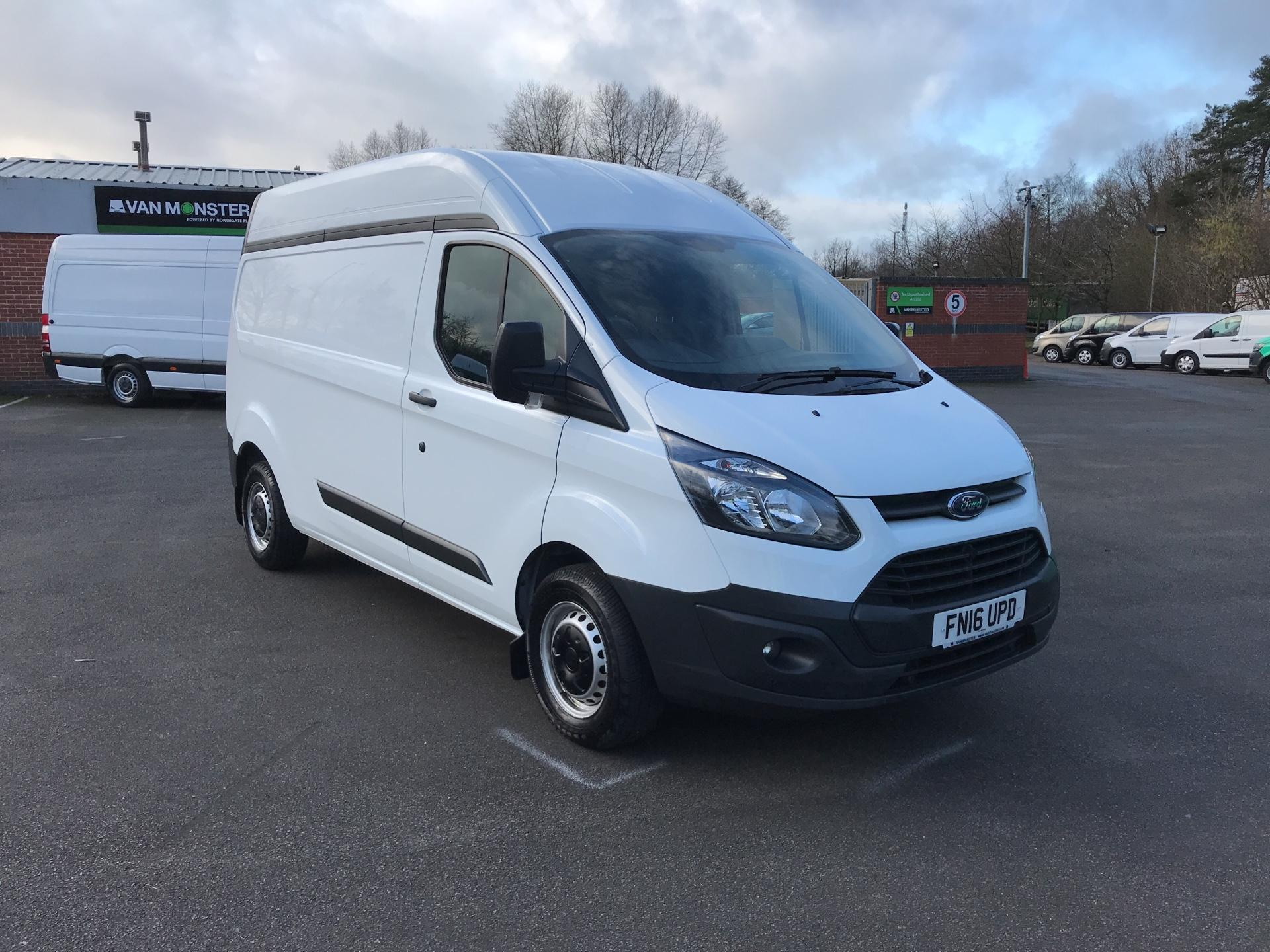 2016 Ford Transit Custom 290 L2 DIESEL FWD 2.2 TDCI 100PS HIGH ROOF VAN EURO 5 SPEED LIMITER FITTED *VALUE RANGE VEHICLE - CONDITION REFLECTED IN PRICE* (FN16UPD)