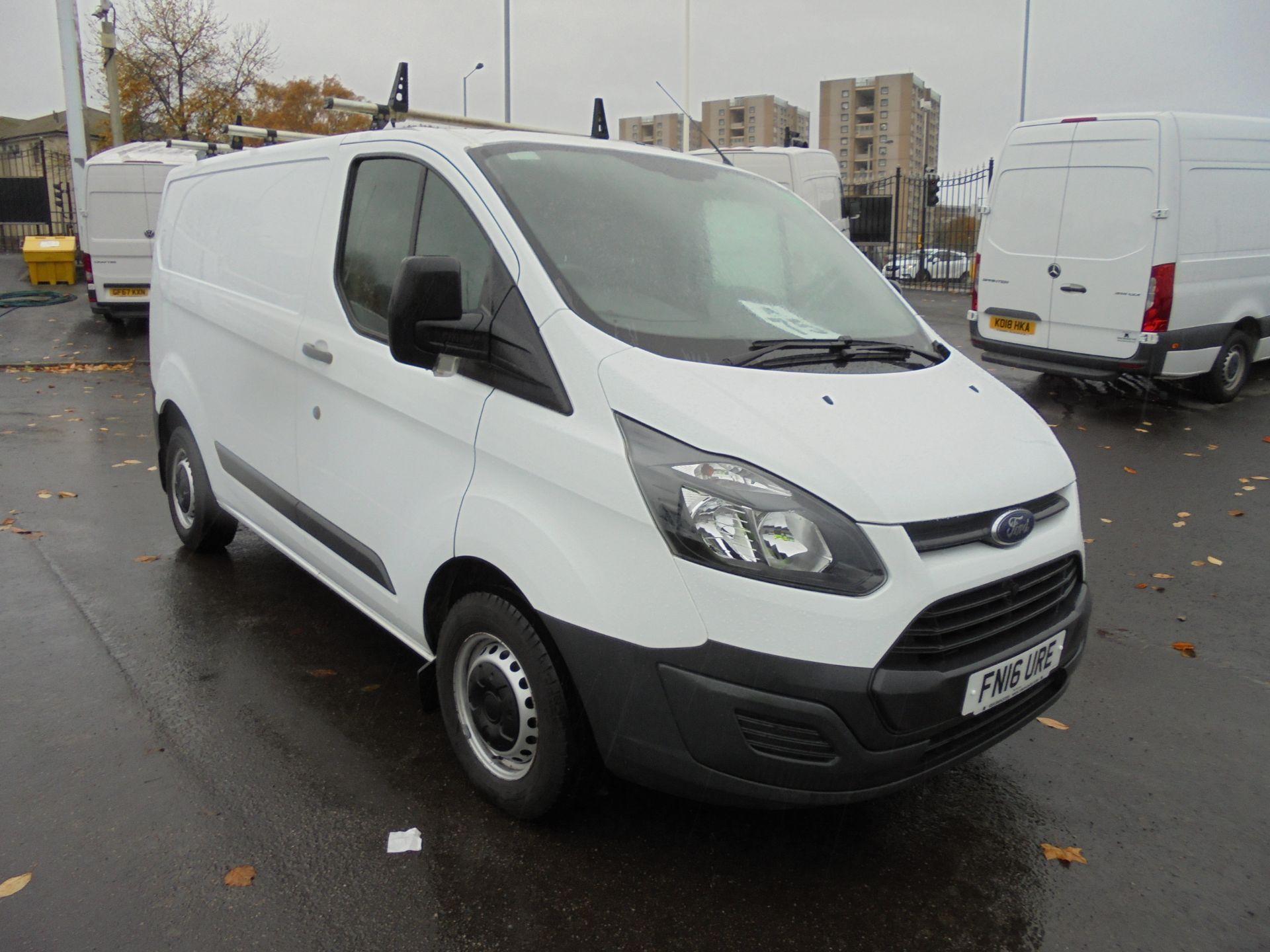 2016 Ford Transit Custom 2.2 Tdci 100Ps Low Roof Van (FN16URE)