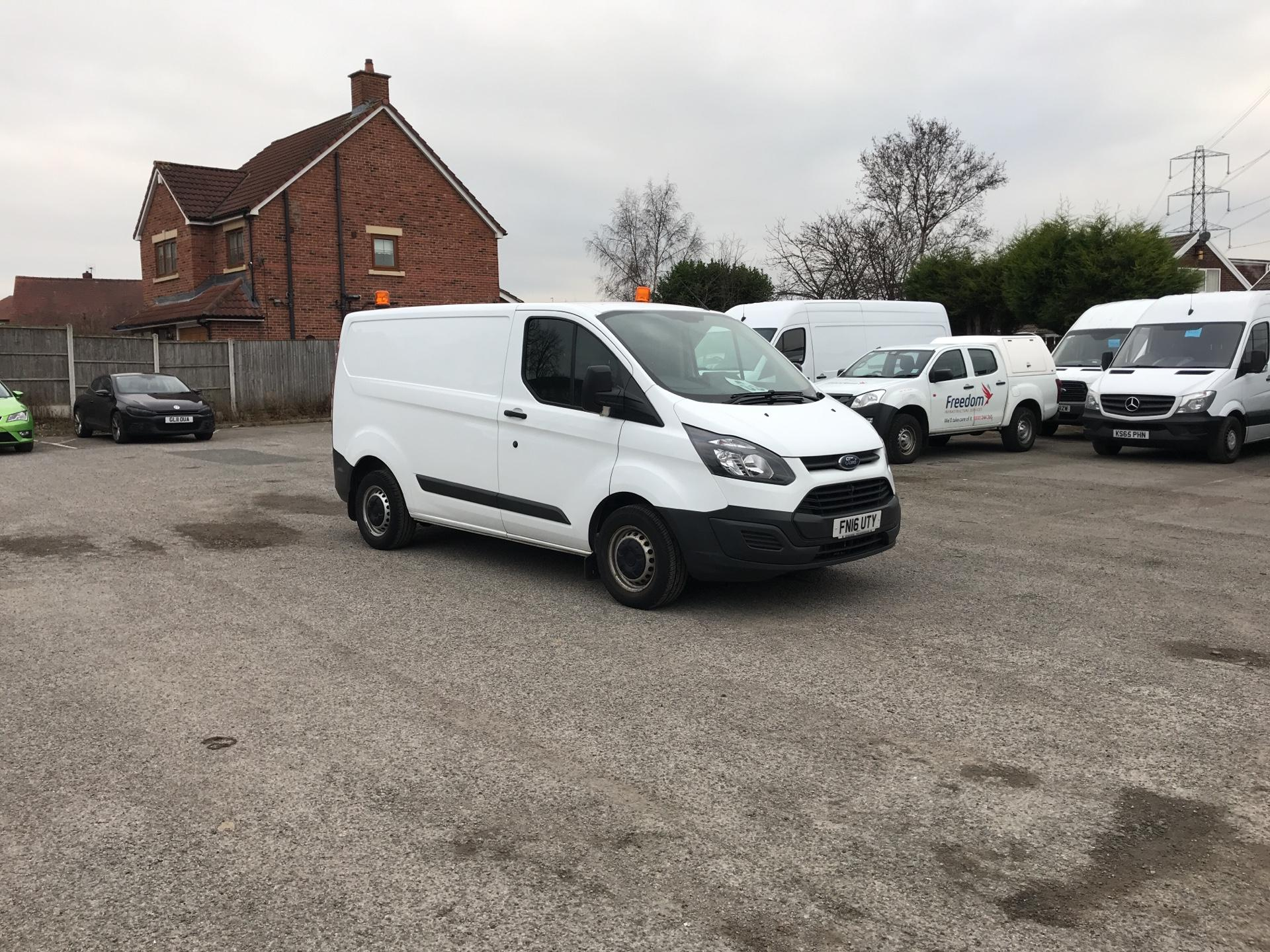 2016 Ford Transit Custom 290 L1 DIESEL FWD 2.2  TDCI 100PS LOW ROOF VAN EURO 5 *VALUE RANGE VEHICLE REFLECTED IN PRICE* (FN16UTY)