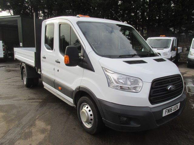 2016 Ford Transit 350 L3 2.2 Tdci 125Ps Double Cab Tipper  (FN16UZA)