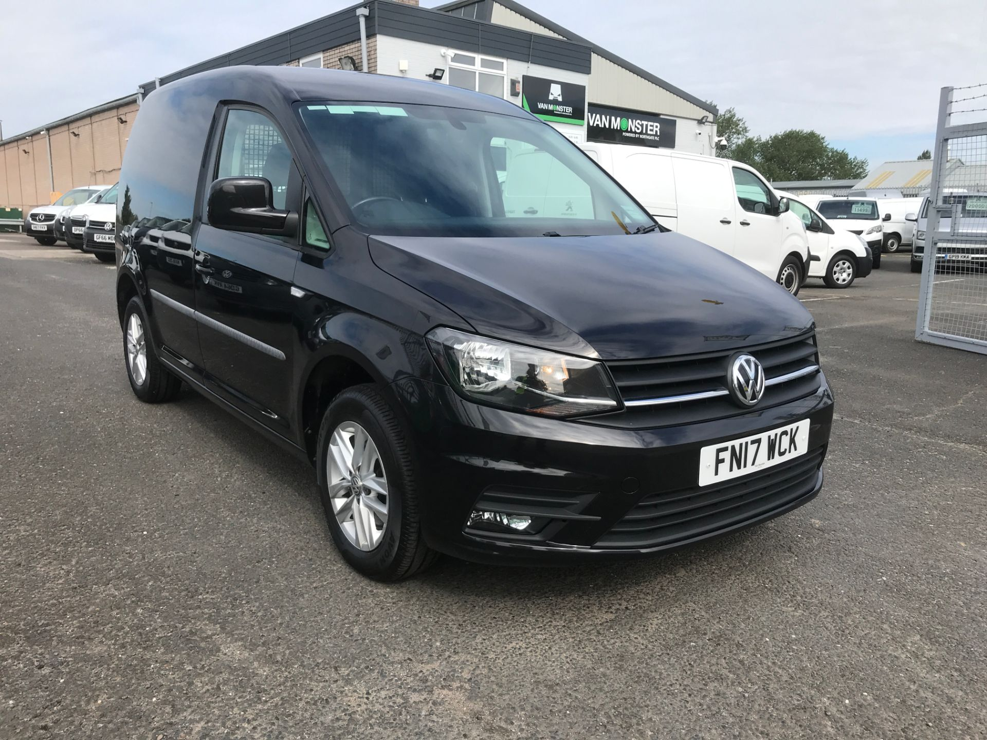 2017 Volkswagen Caddy 2.0TDI BLUEMOTION TECH 102PS HIGHLINE EURO 6 (FN17WCK)