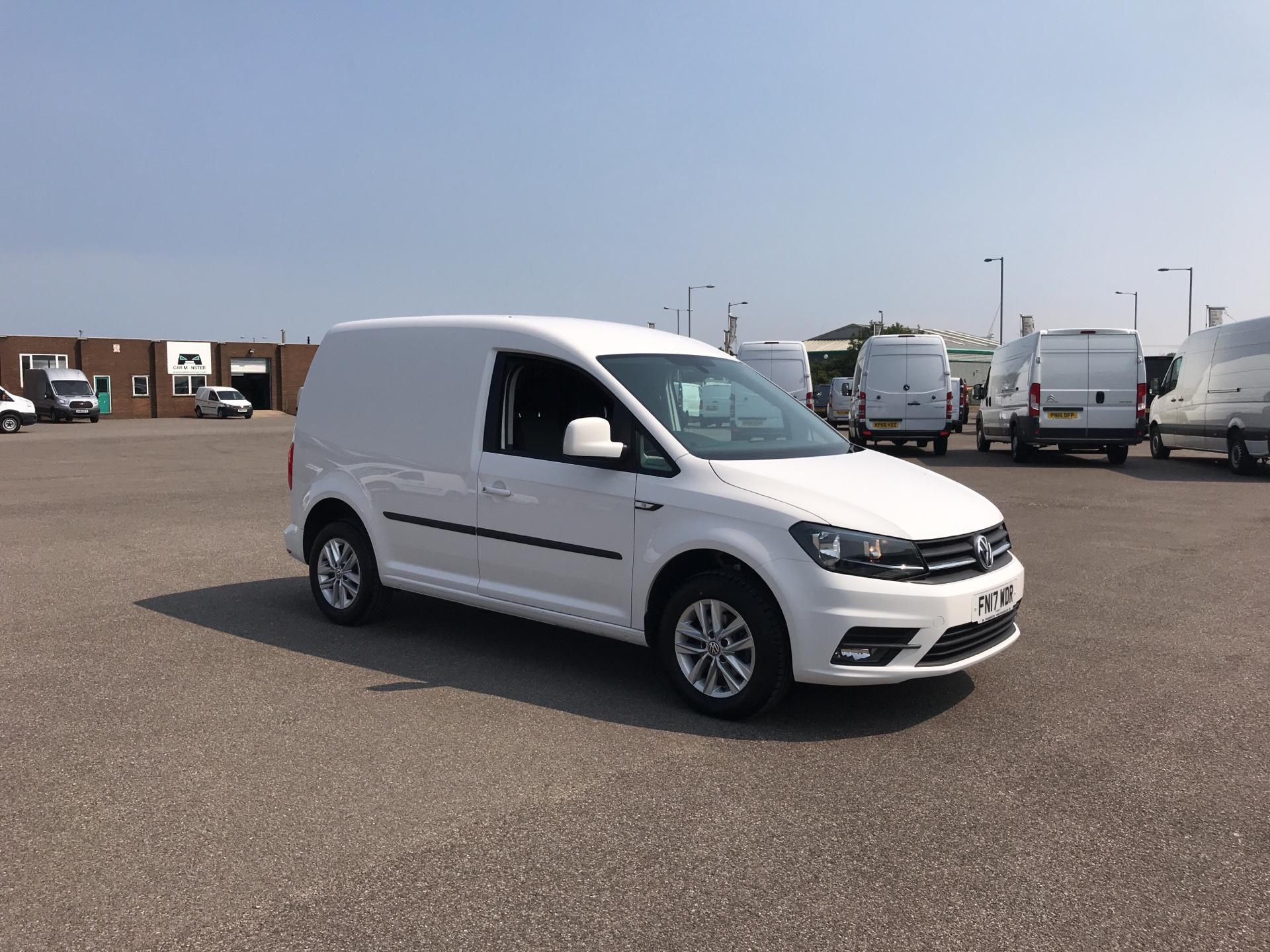 2017 Volkswagen Caddy 2.0 102PS BLUEMOTION TECH 102 HIGHLINE EURO 6. AIR CON, ALLOYS. (FN17WDR)