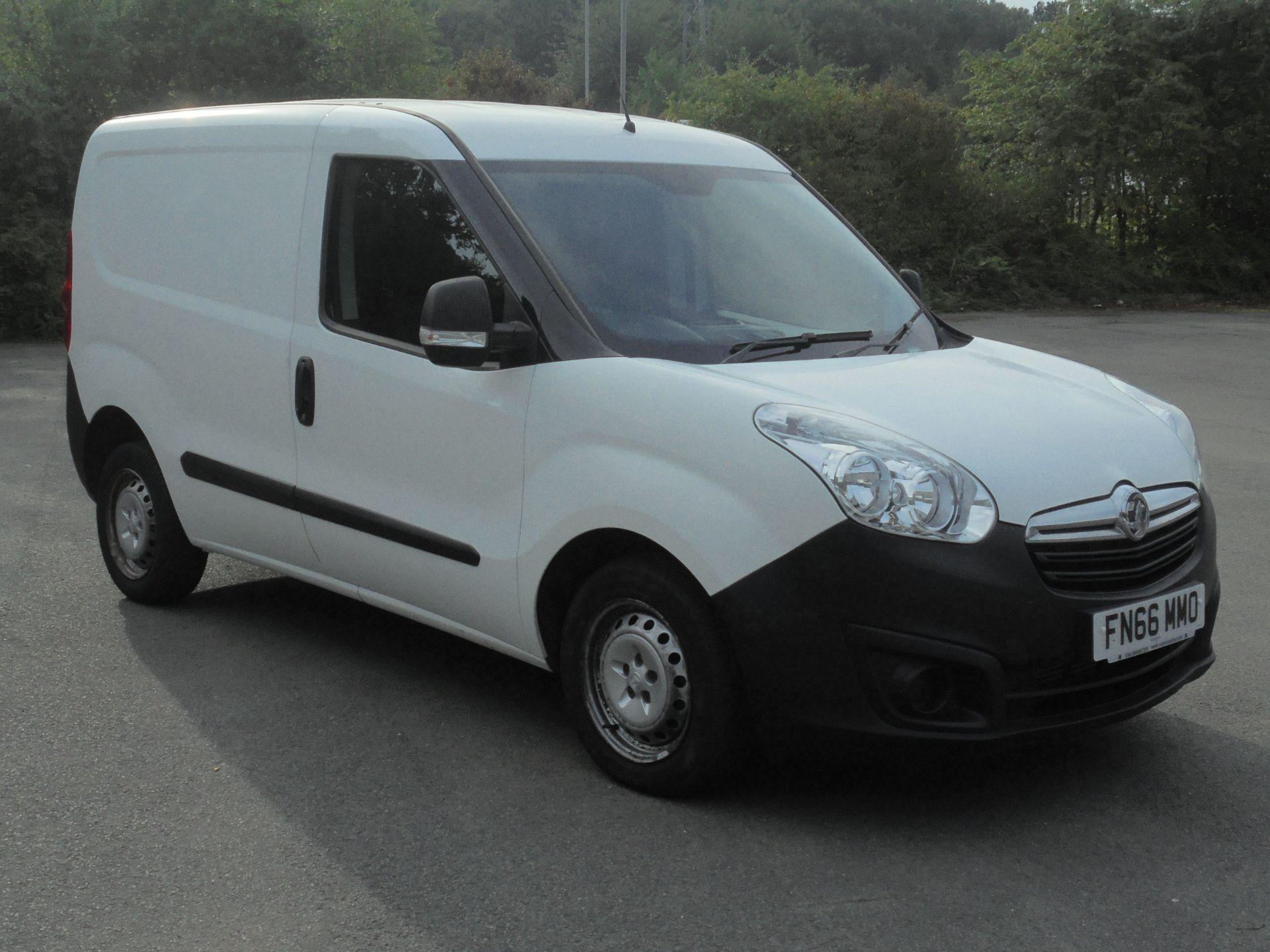 2016 Vauxhall Combo 2000 1.3 Cdti 16V H1 Van (FN66MMO)