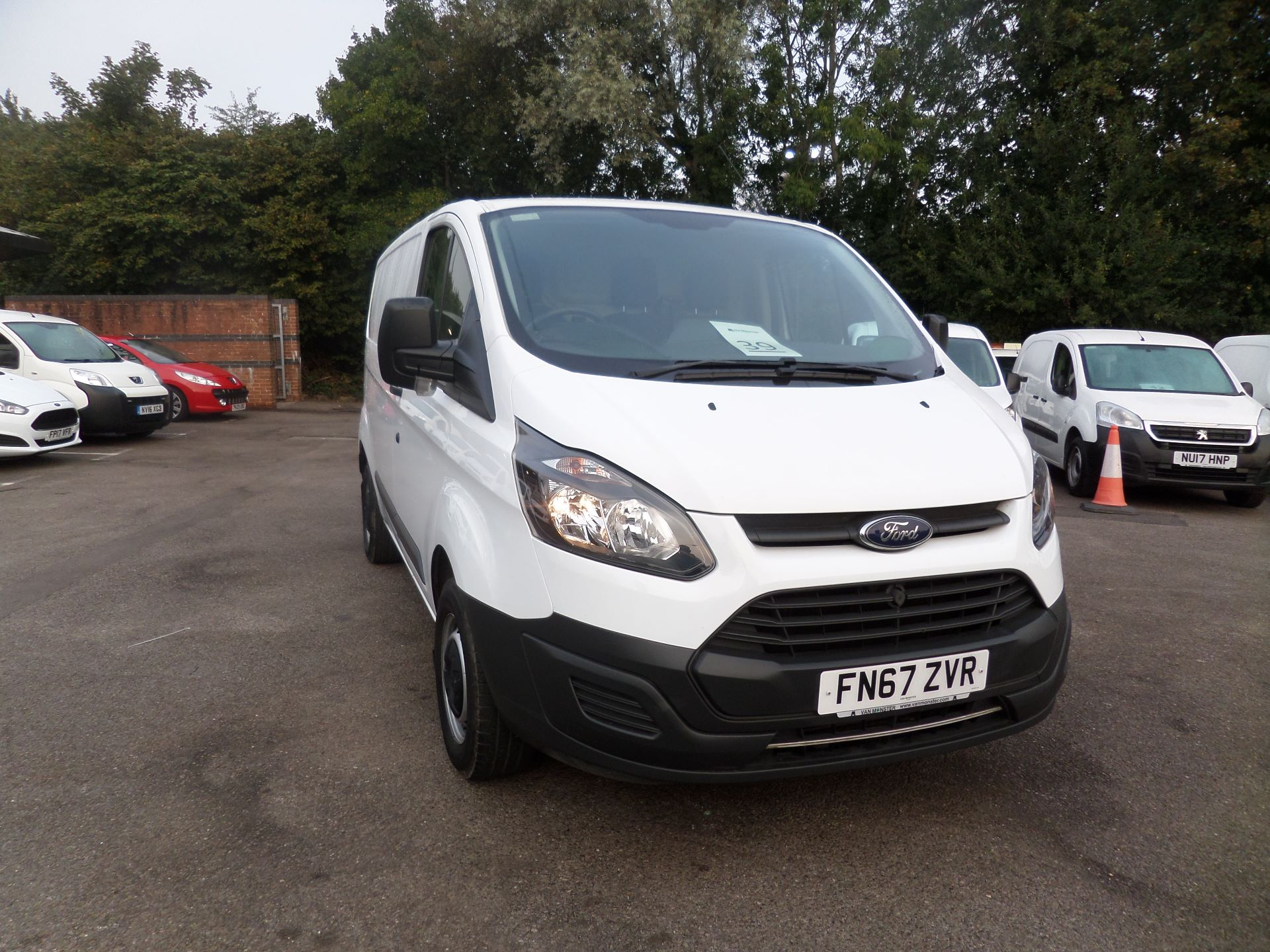 2017 Ford Transit Custom 2.0 Tdci 105Ps Low Roof Van Euro 6 (FN67ZVR) Image 1
