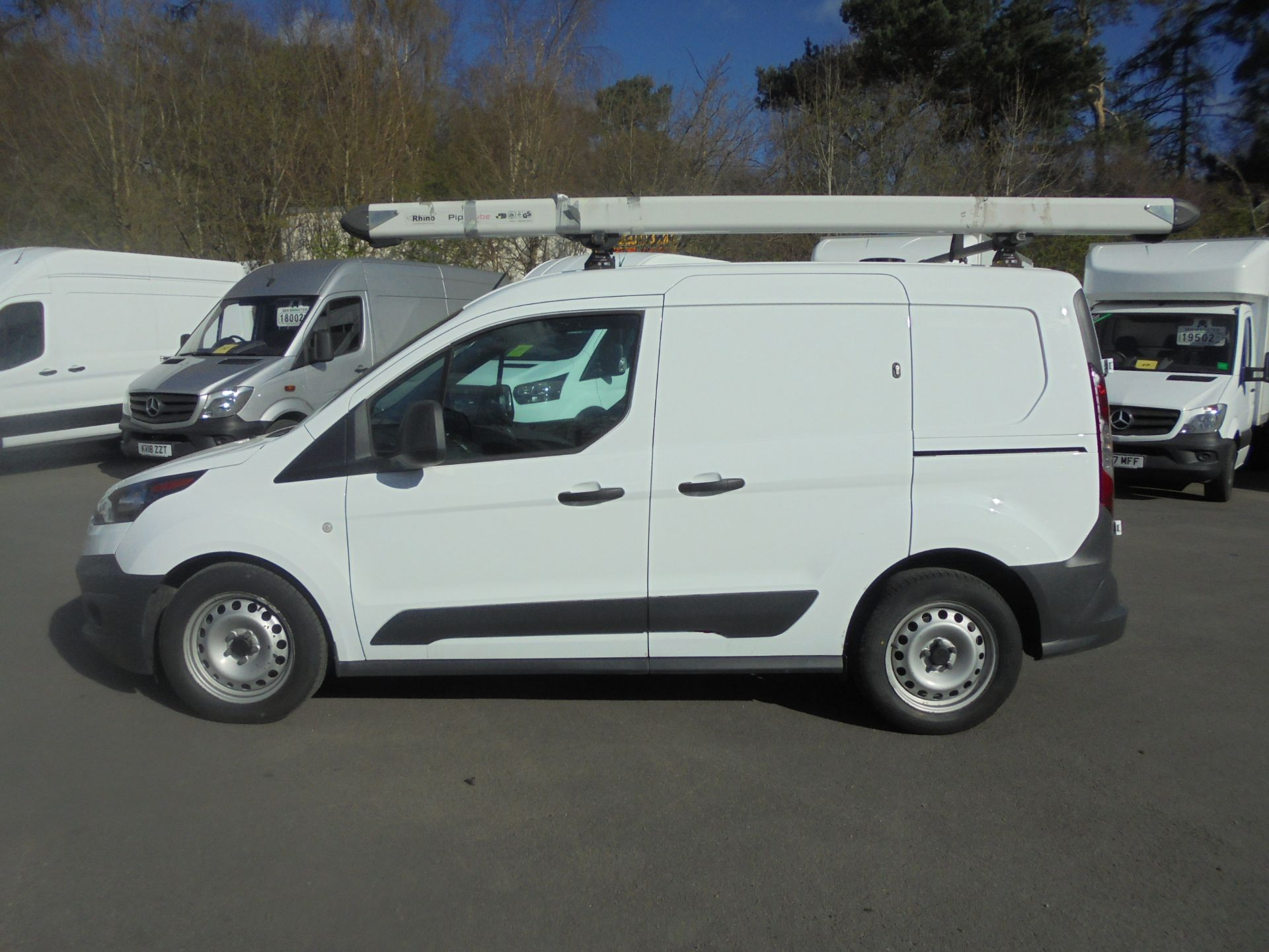 2017 Ford Transit Connect 1.5 Tdci 75Ps Van (FN67ZVT) Image 4