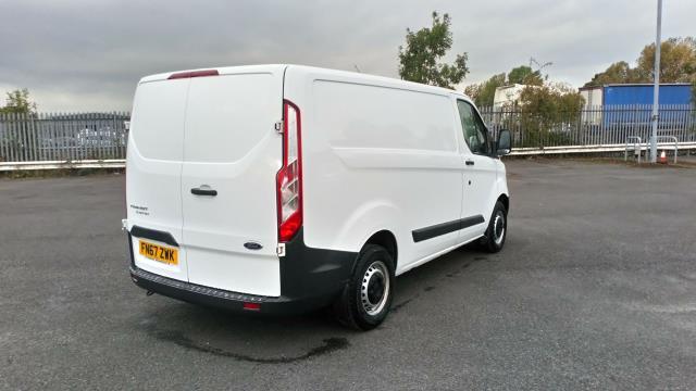 2017 Ford Transit Custom 2.0 Tdci 105Ps Low Roof Van (FN67ZWK) Image 7