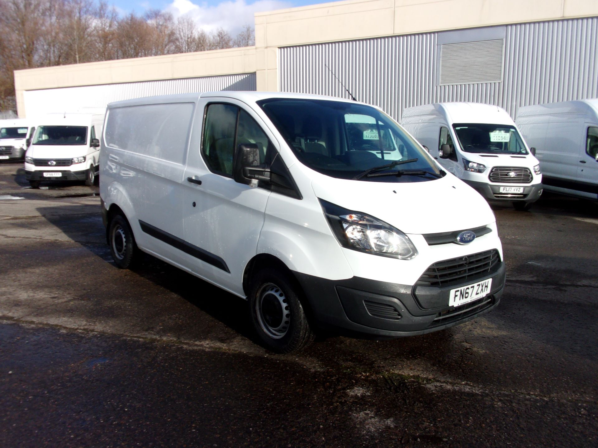 2017 Ford Transit Custom 290 L1 DIESEL FWD 2.0 TDCI 105PS LOW ROOF VAN EURO 6 (FN67ZXH)