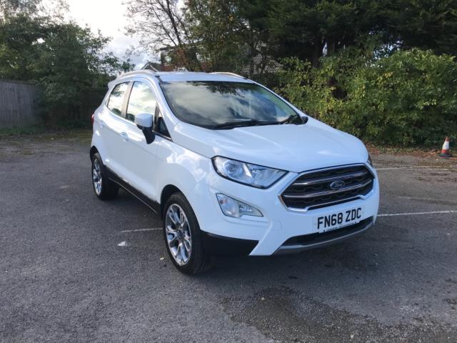 2018 Ford Ecosport 1.5 Tdci 95 Titanium 5Dr [17In] (FN68ZDC)