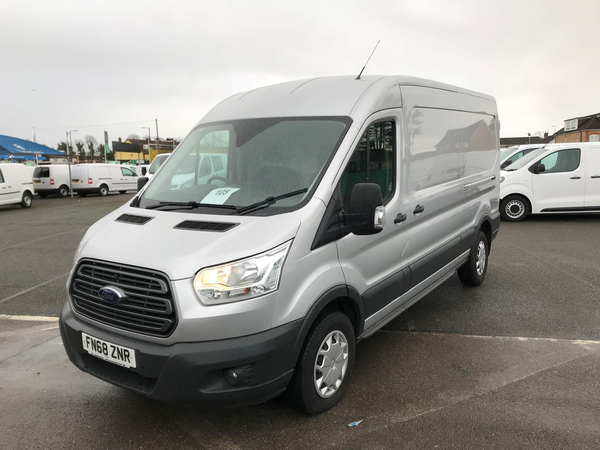 2018 Ford Transit  T350 L3 H2 130PS TREND EURO 6 (FN68ZNR) Image 2