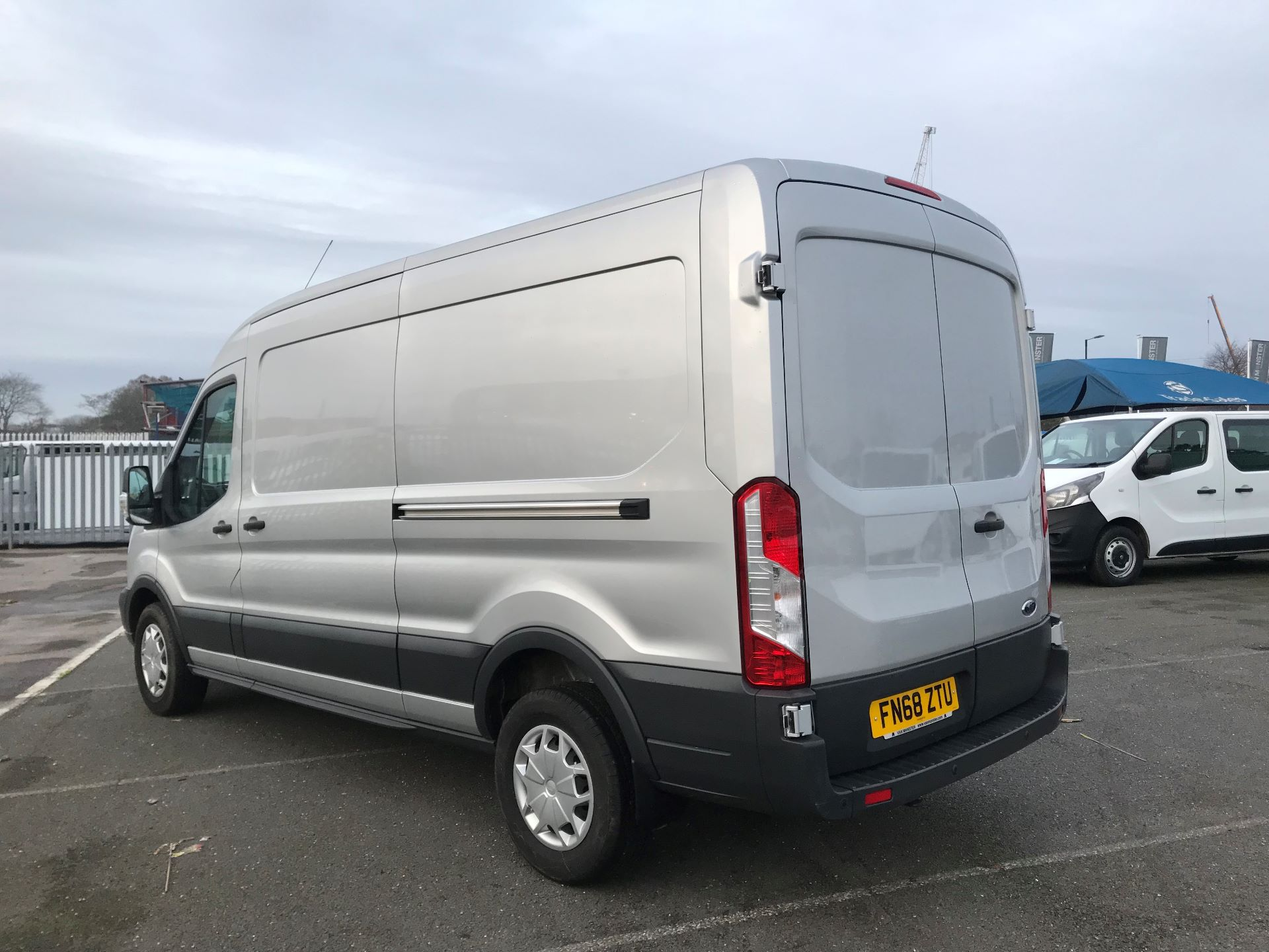 2018 Ford Transit   T350 L3 H2 130PS TREND EURO 6 (FN68ZTU) Image 5