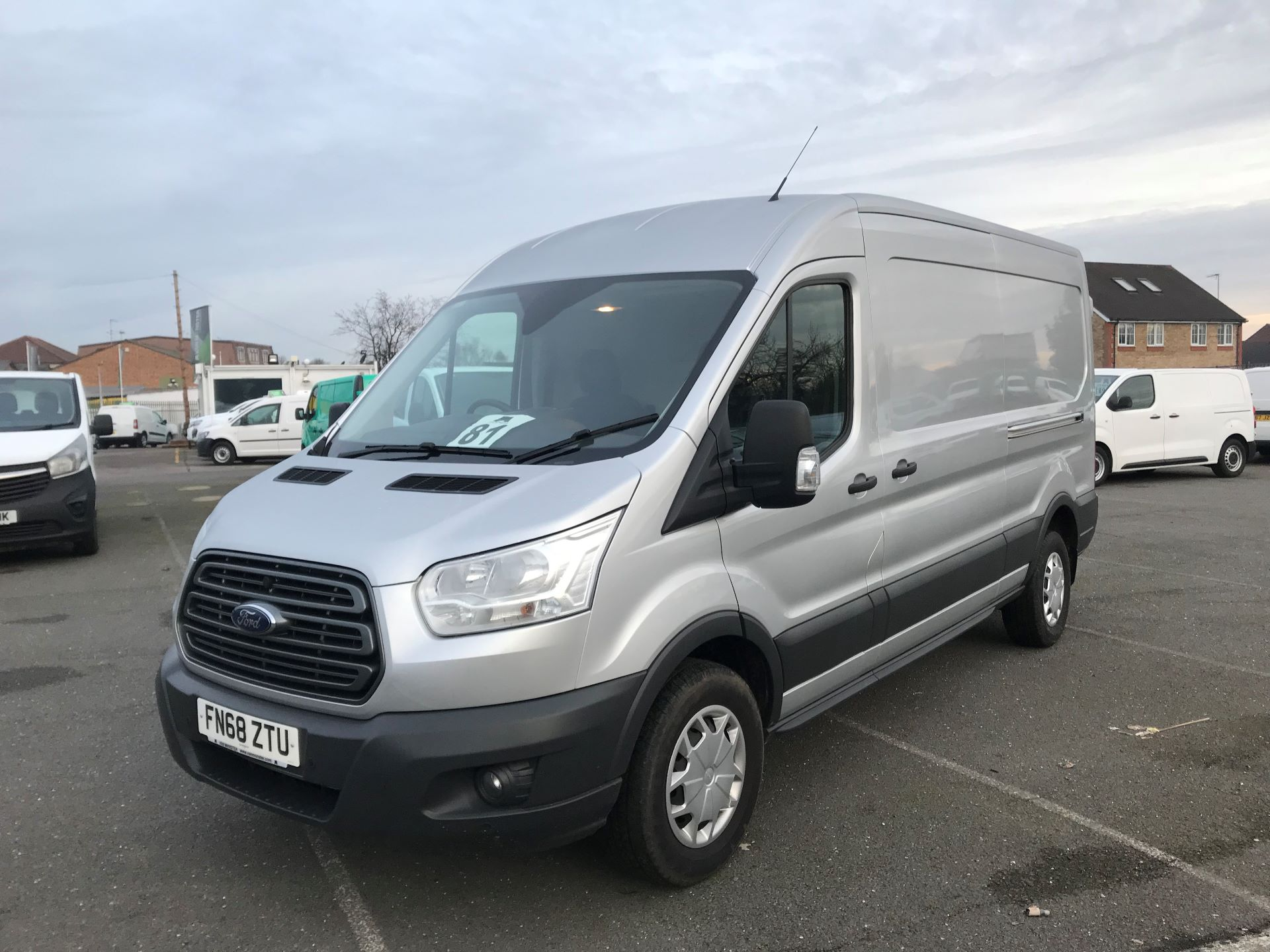 2018 Ford Transit   T350 L3 H2 130PS TREND EURO 6 (FN68ZTU) Image 2