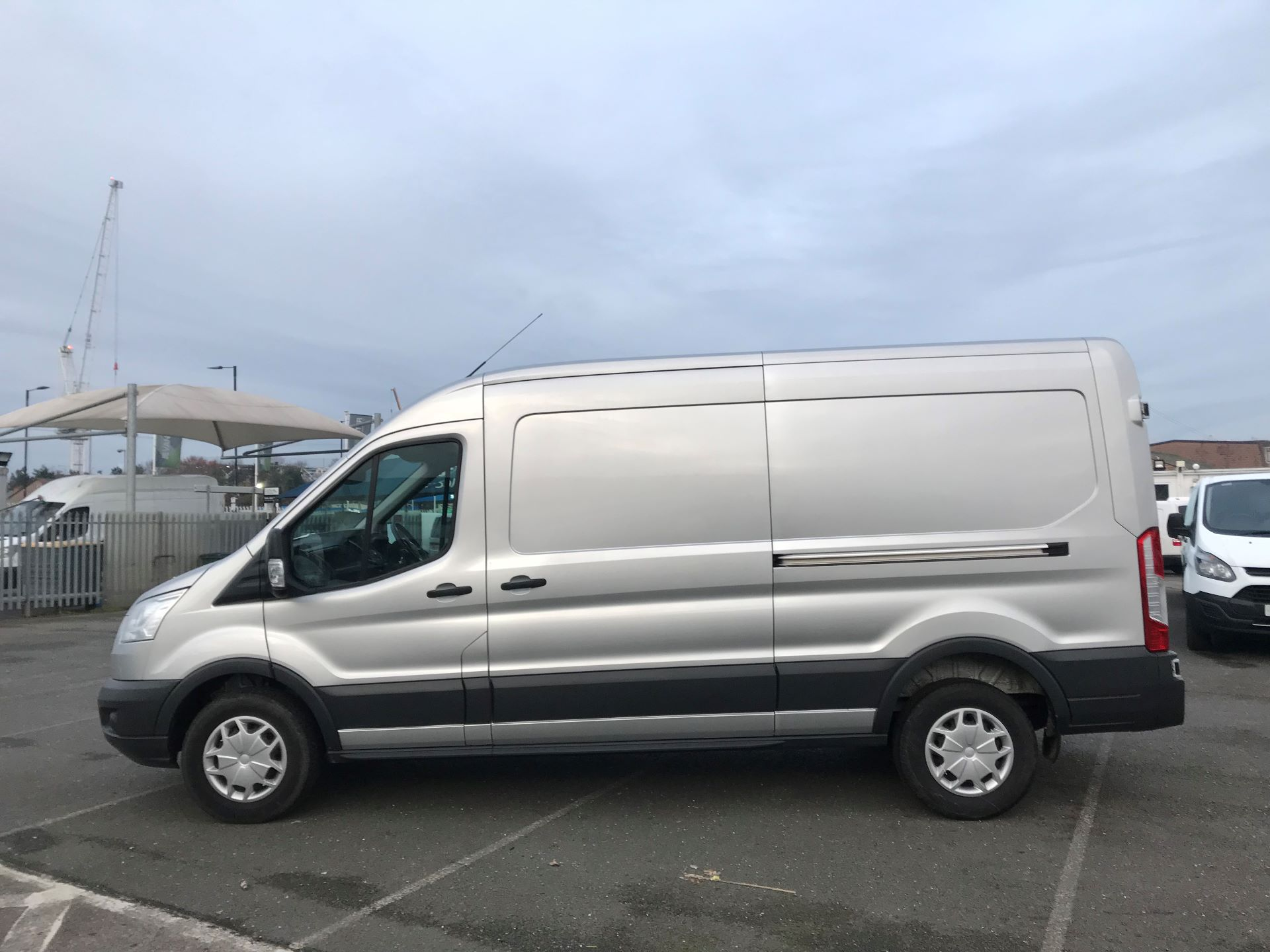 2018 Ford Transit   T350 L3 H2 130PS TREND EURO 6 (FN68ZTU) Image 9