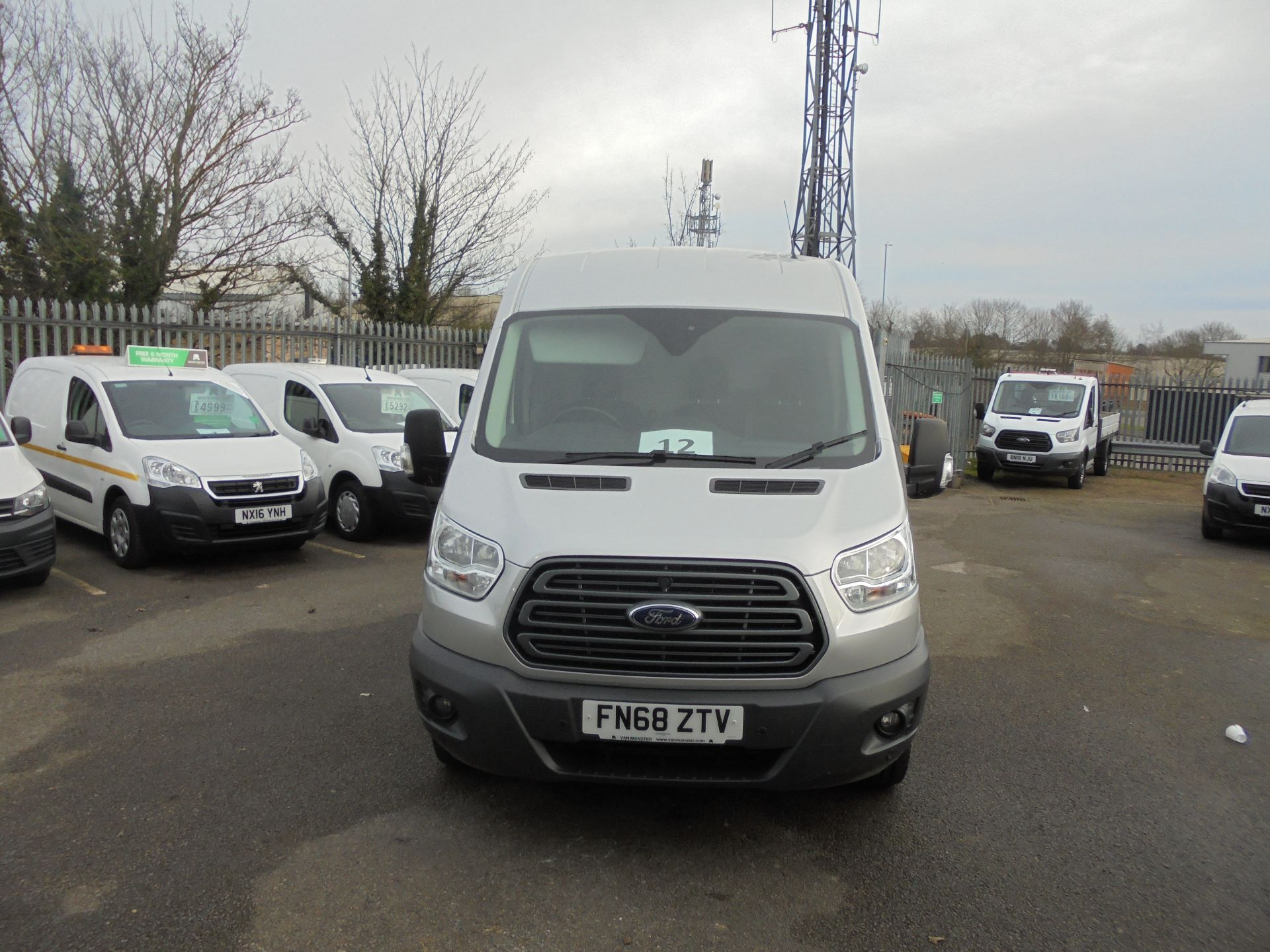 2018 Ford Transit L3 H2 VAN 130PS TREND EURO 6 (FN68ZTV) Image 2