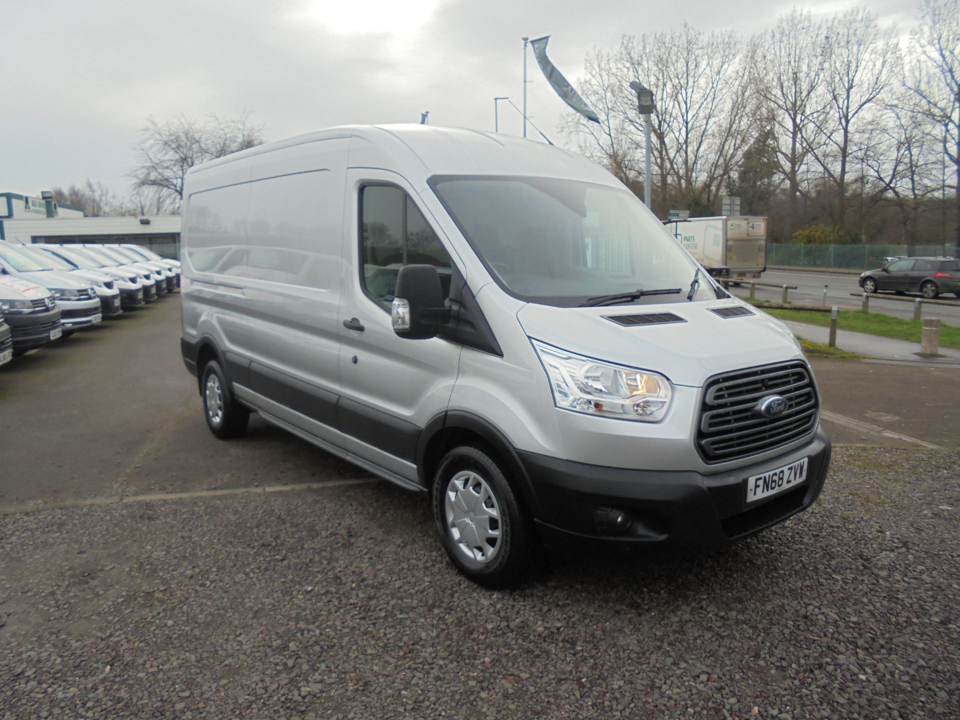2018 Ford Transit 350 L3 2.0 TDCI 130PS H2 TREND EURO 6  (FN68ZVW)