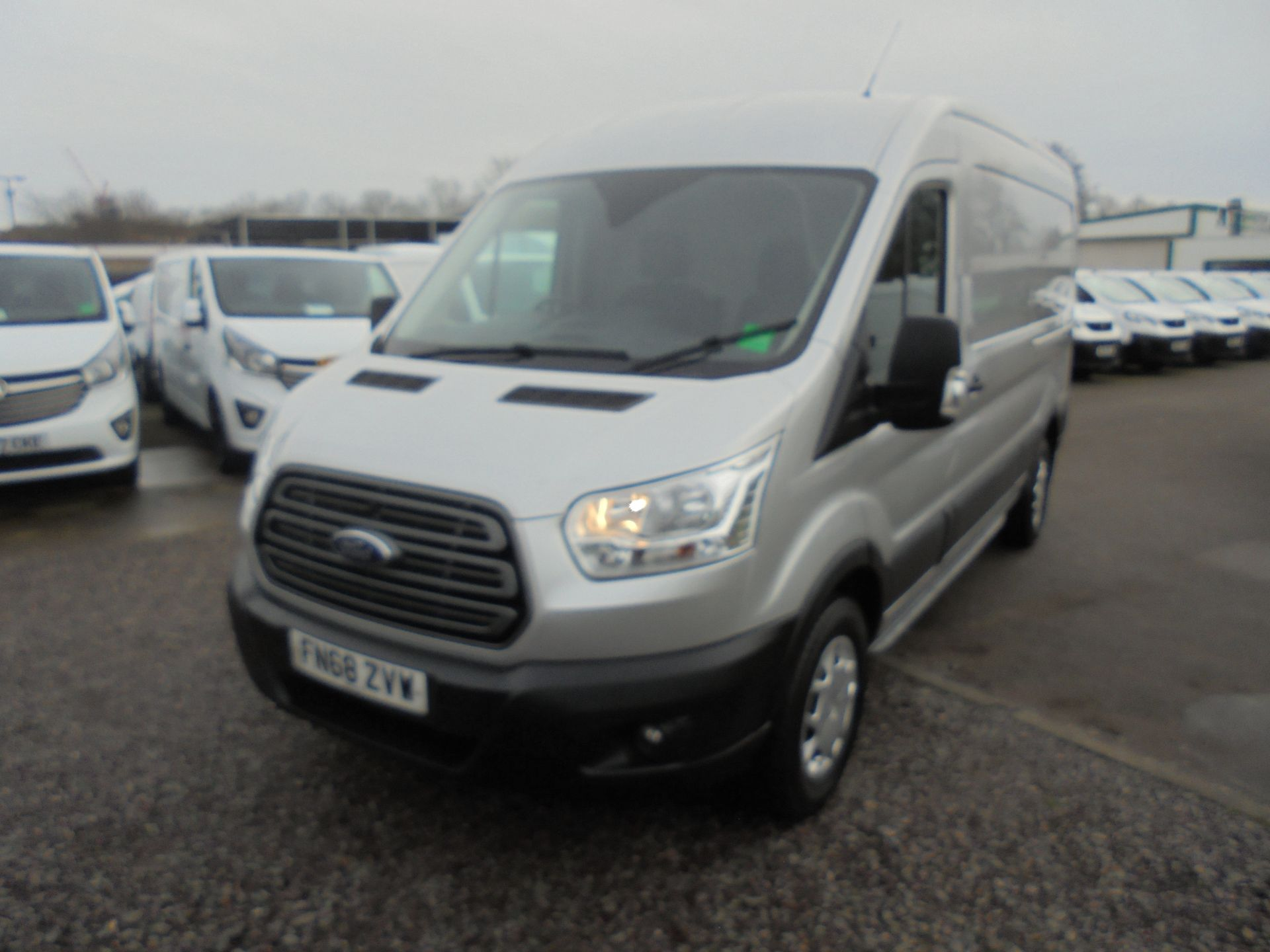 2018 Ford Transit 350 L3 2.0 TDCI 130PS H2 TREND EURO 6  (FN68ZVW) Image 9
