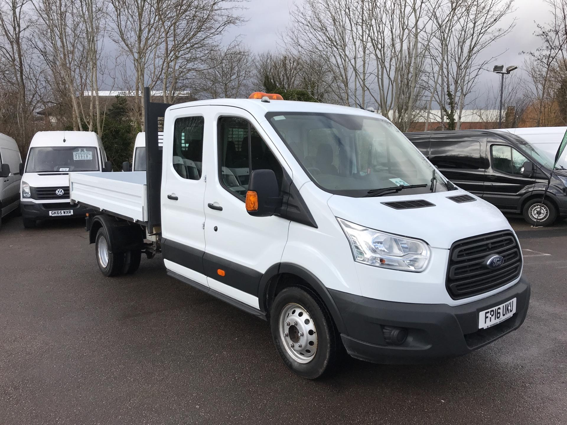 2016 Ford Transit 350 L3 DOUBLE CAB TIPPER 125PS EURO 5 (FP16UKU)