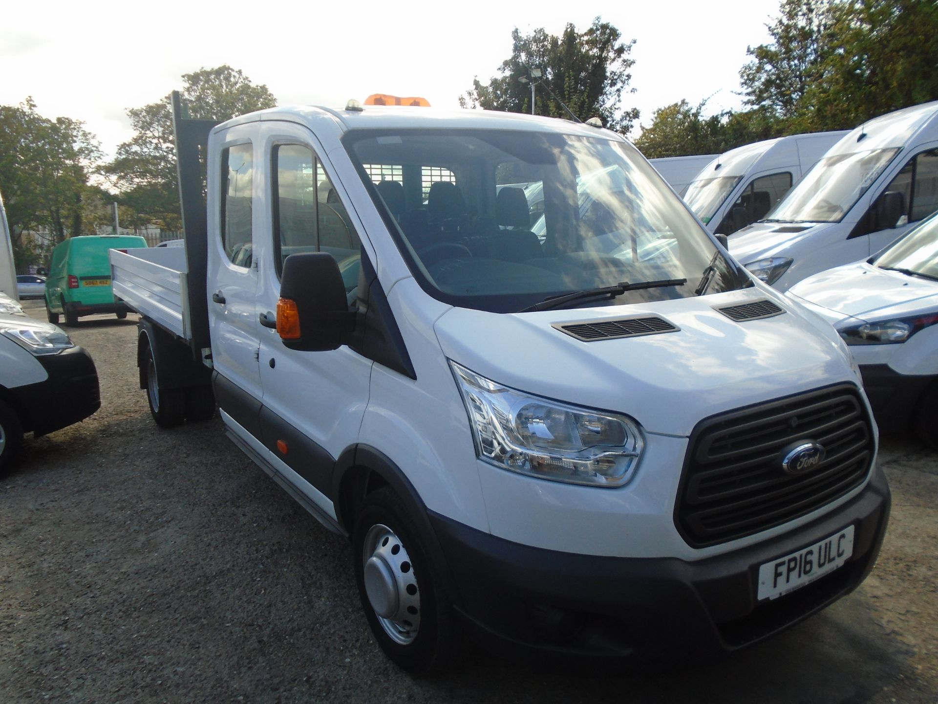 2016 Ford Transit 2.2 Tdci 125Ps Double Cab Chassis (FP16ULC)
