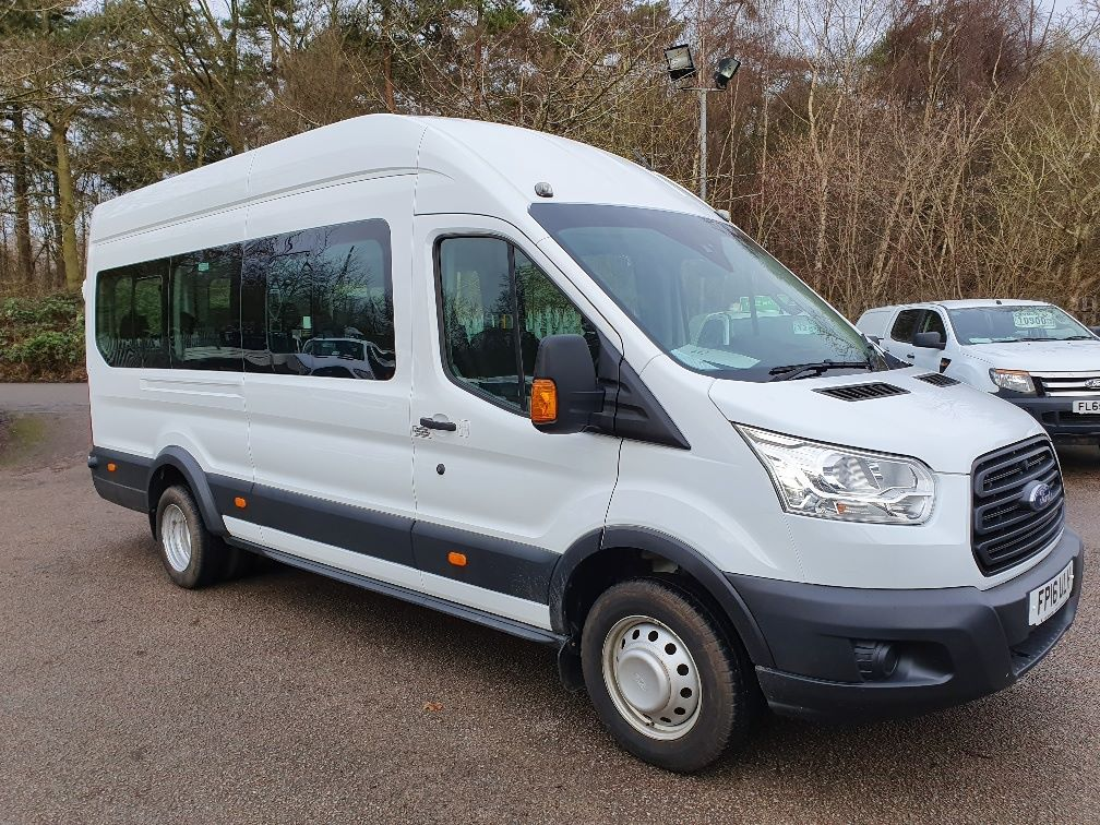 2016 Ford Transit T460 L4 H3 HIGH ROOF MINIBUS 125PS EURO 6 (FP16ULH)